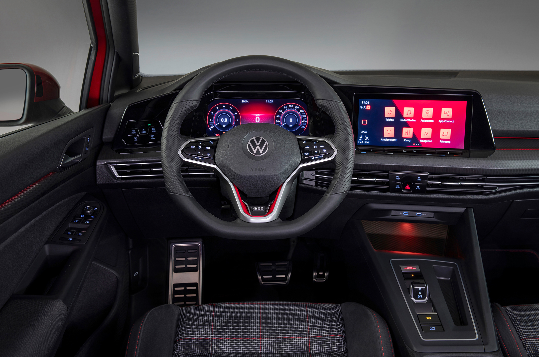 Volkswagen Golf GTI - 2020 - steering wheel / volant