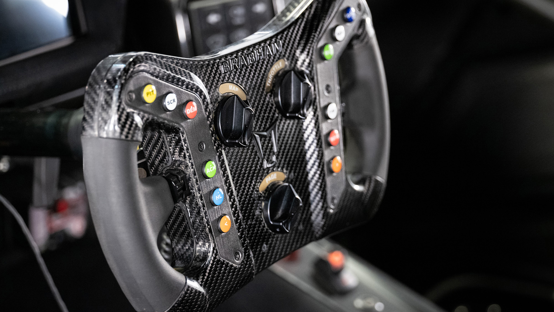 Brabham BT62 Competition - 2020 - racing wheel / volant course