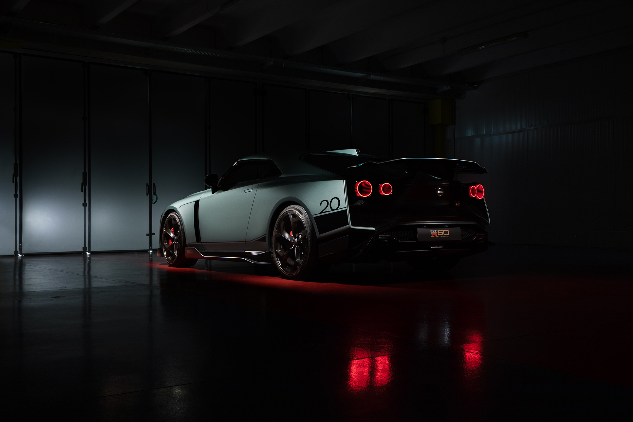 Nissan GT-R50 by Italdesign - 2020 - rear side-face / profil arrière