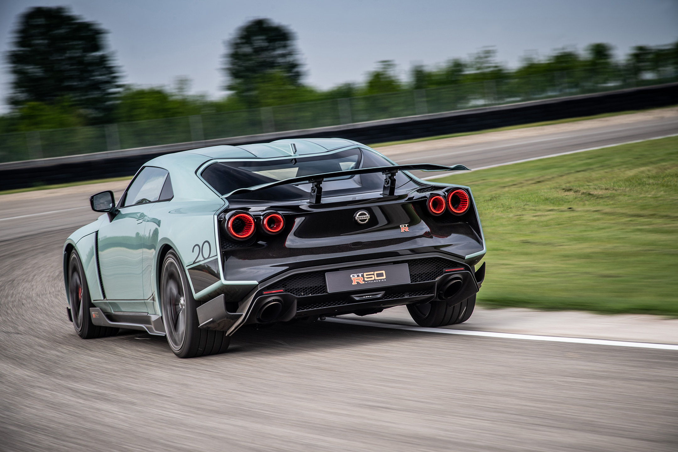 Nissan GT-R50 by Italdesign - 2020 - rear / arrière - on track / sur circuit