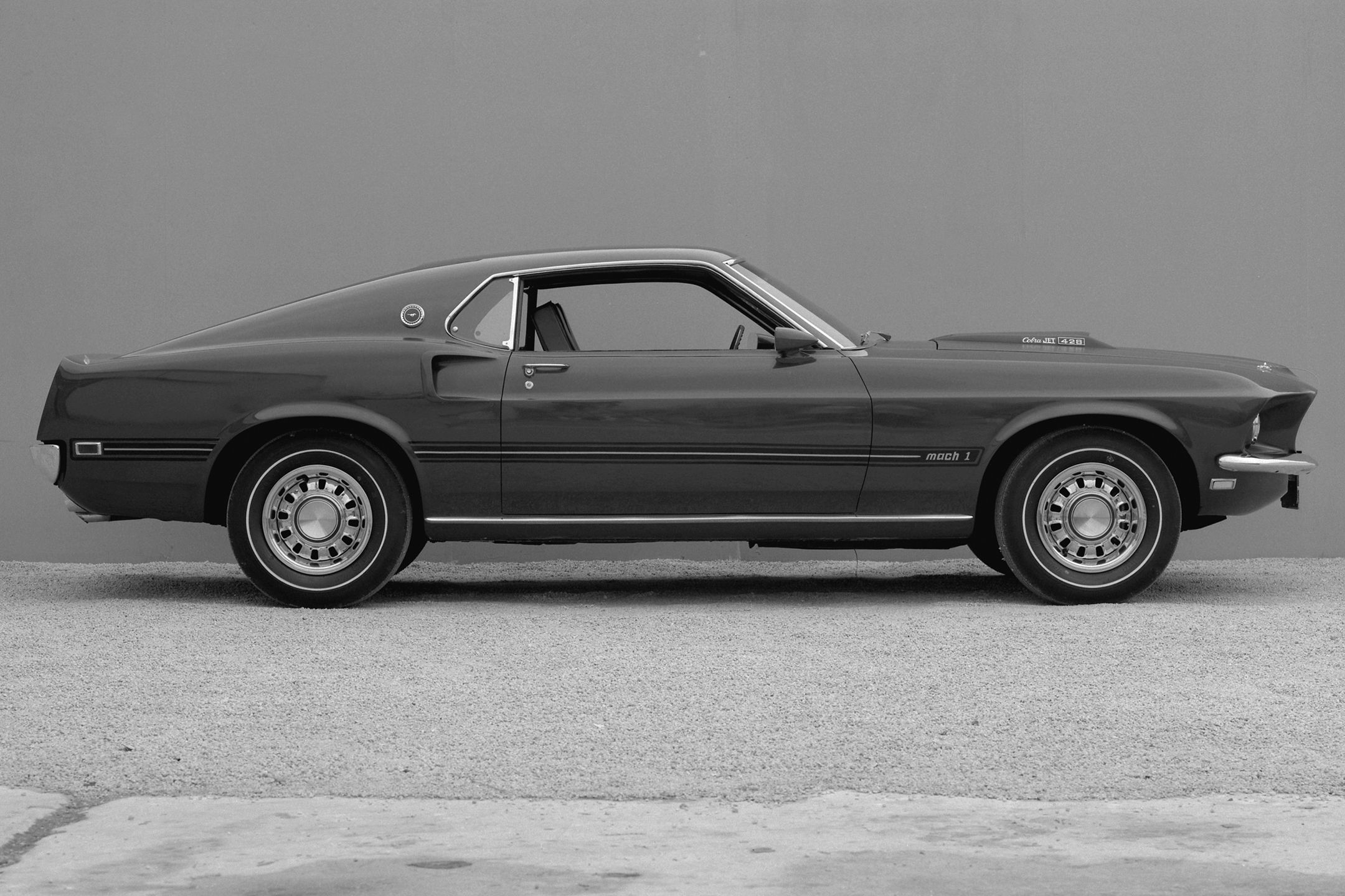 Ford Mustang Mach1 - 1969 - heritage - side-face / profil