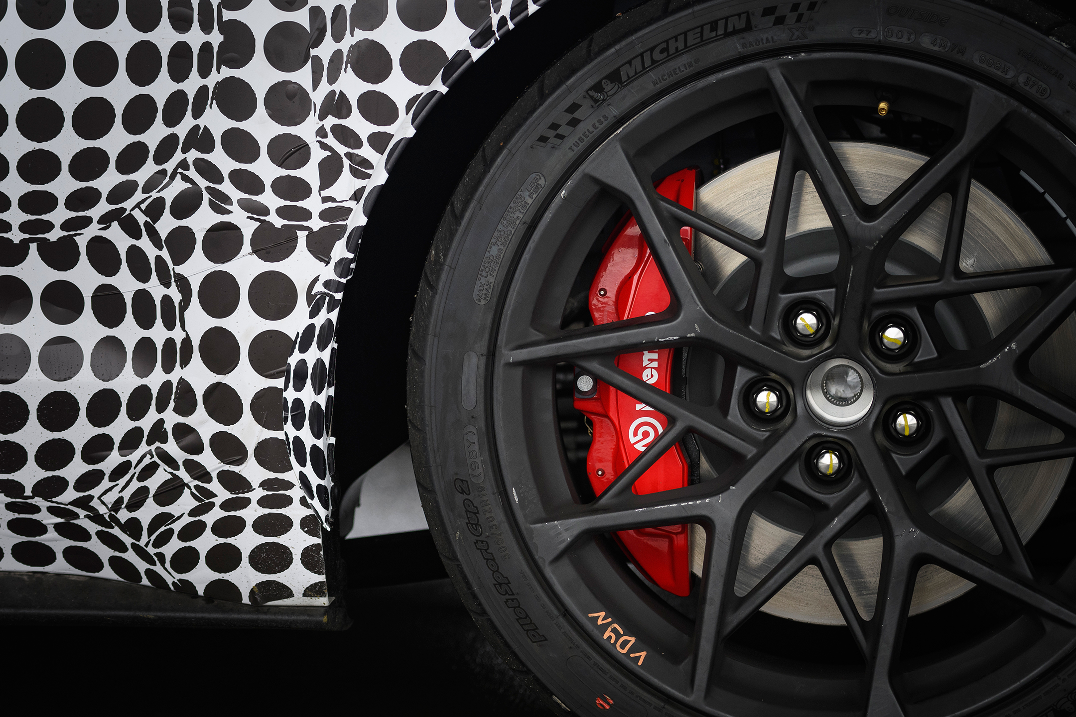 Ford Mustang Mach 1 - 2020 - wheel / jante - Brembo brake discs - Michelin tyres