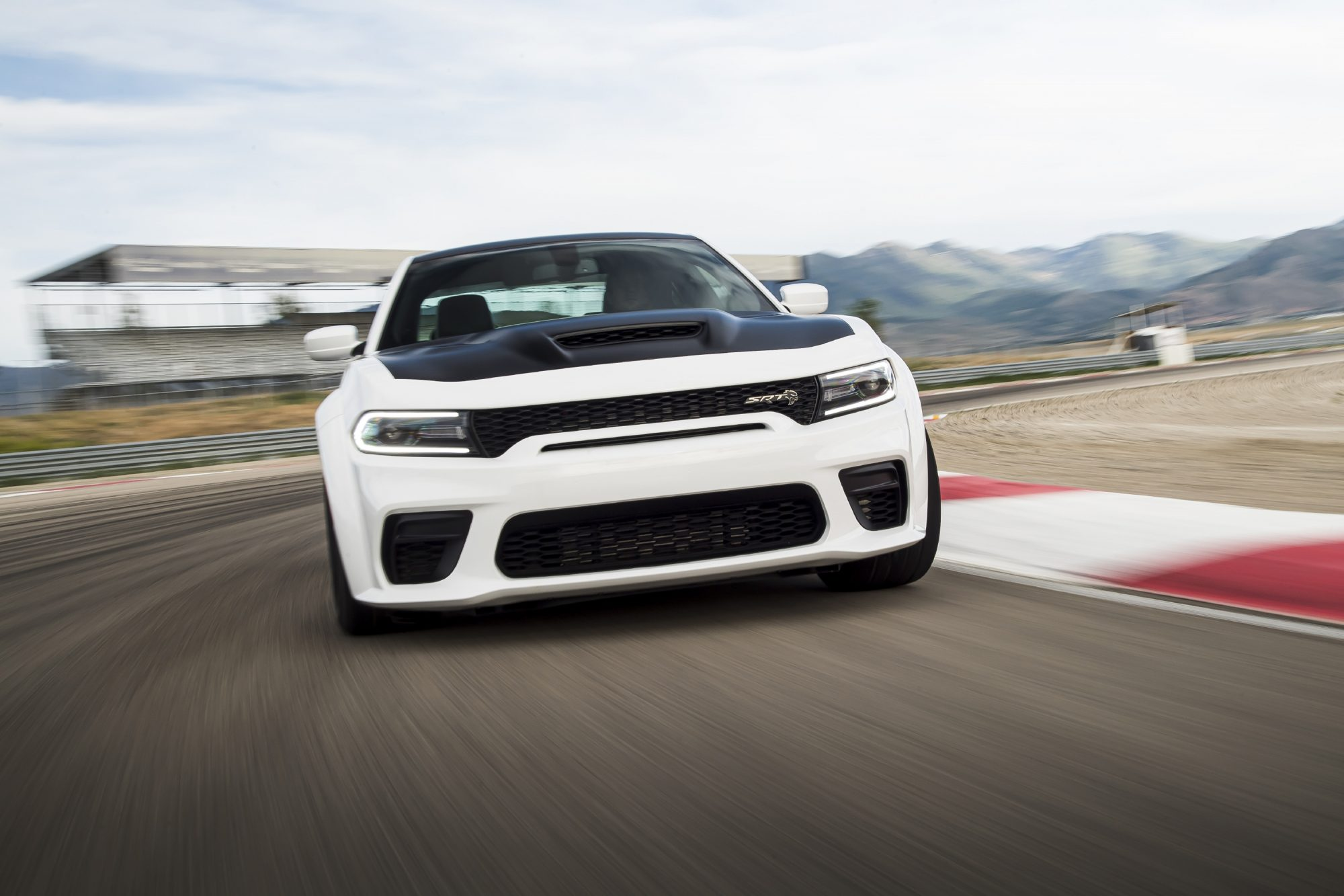 Dodge Charger SRT Hellcat Redeye - 2020 - front-face / face avant - on track / sur circuit