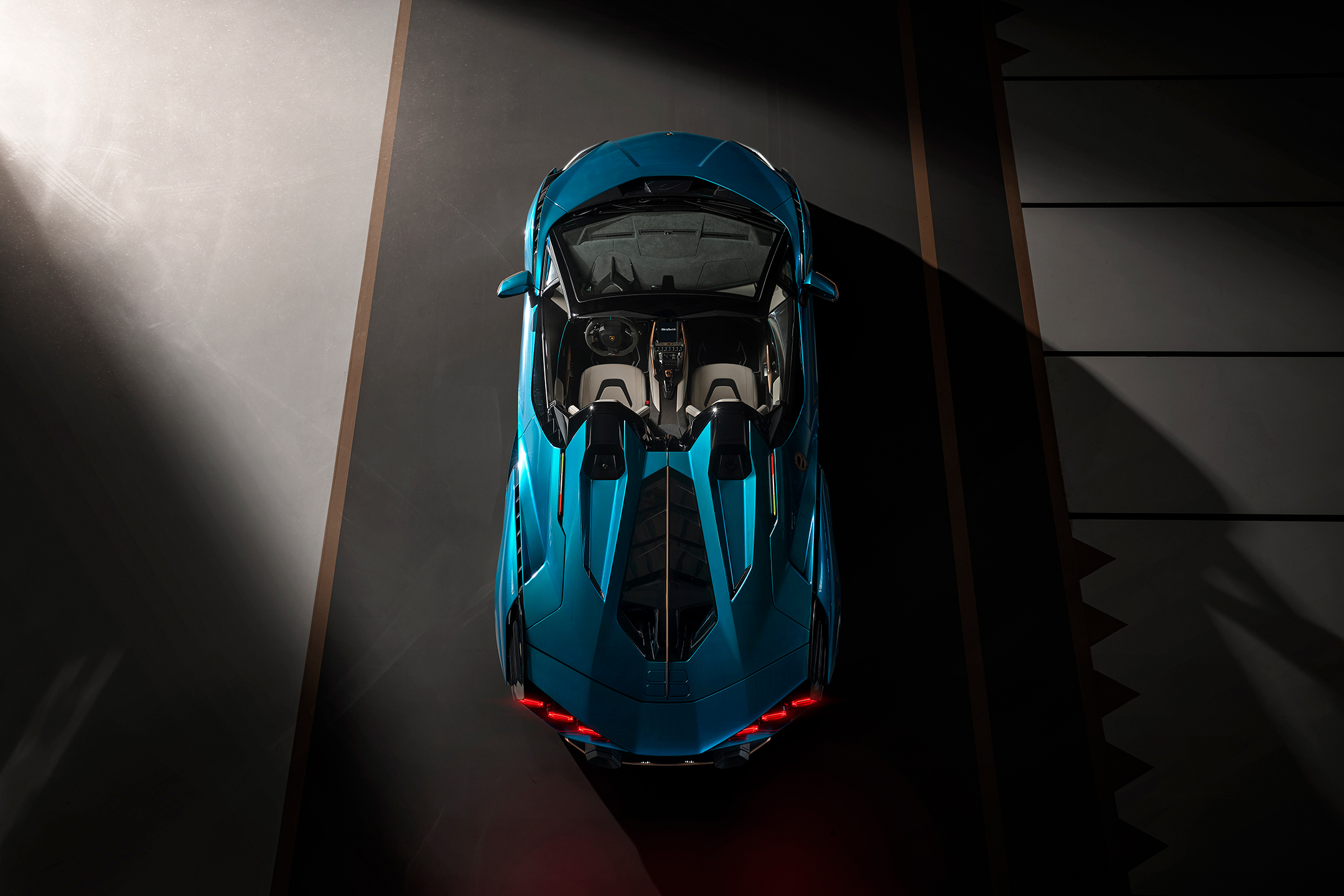 Lamborghini Sián Roadster - 2020 - top view