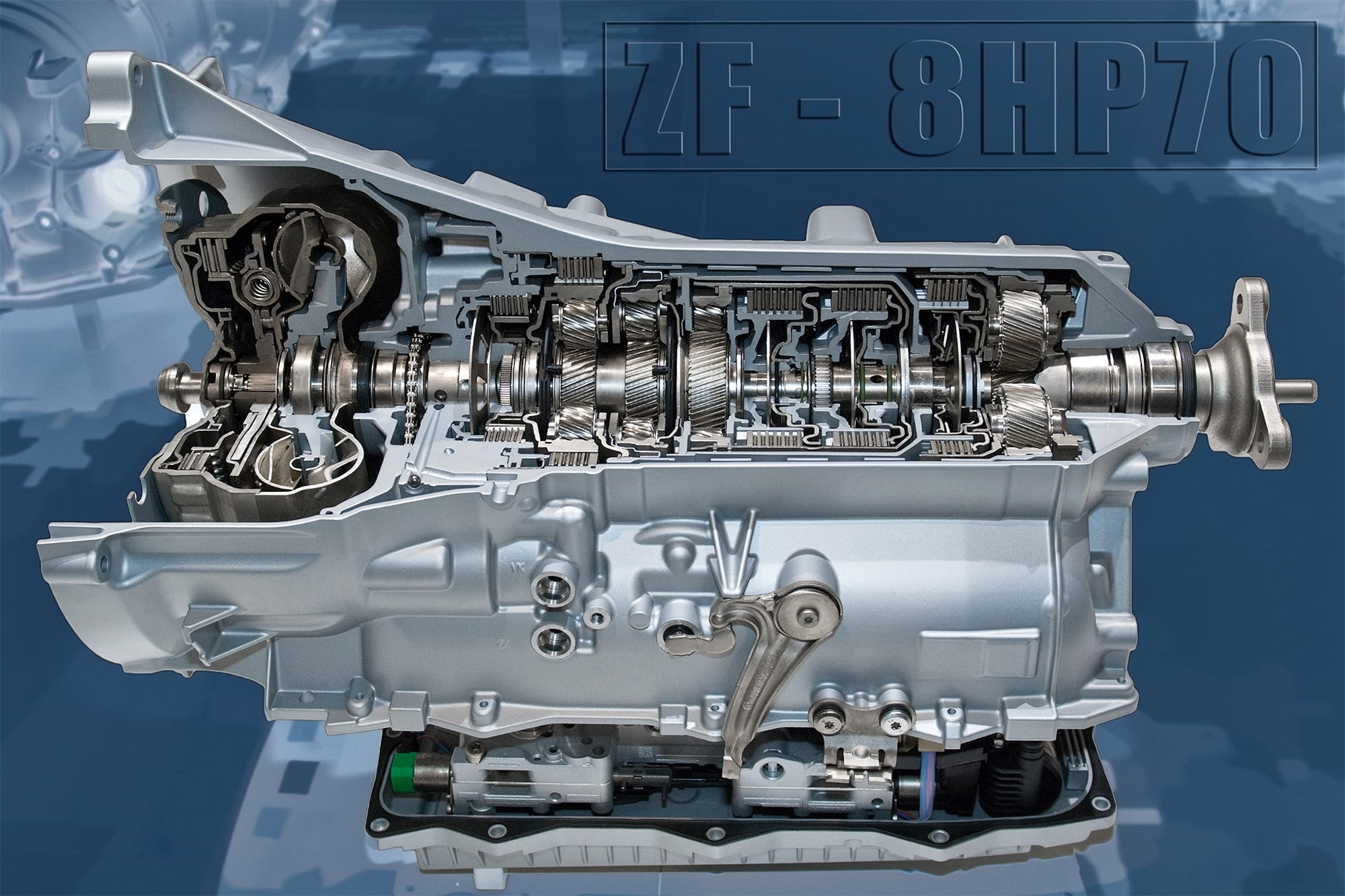 ZF 8HP70 - gearbox / boite de vitesse - eight-speed automatic transmission
