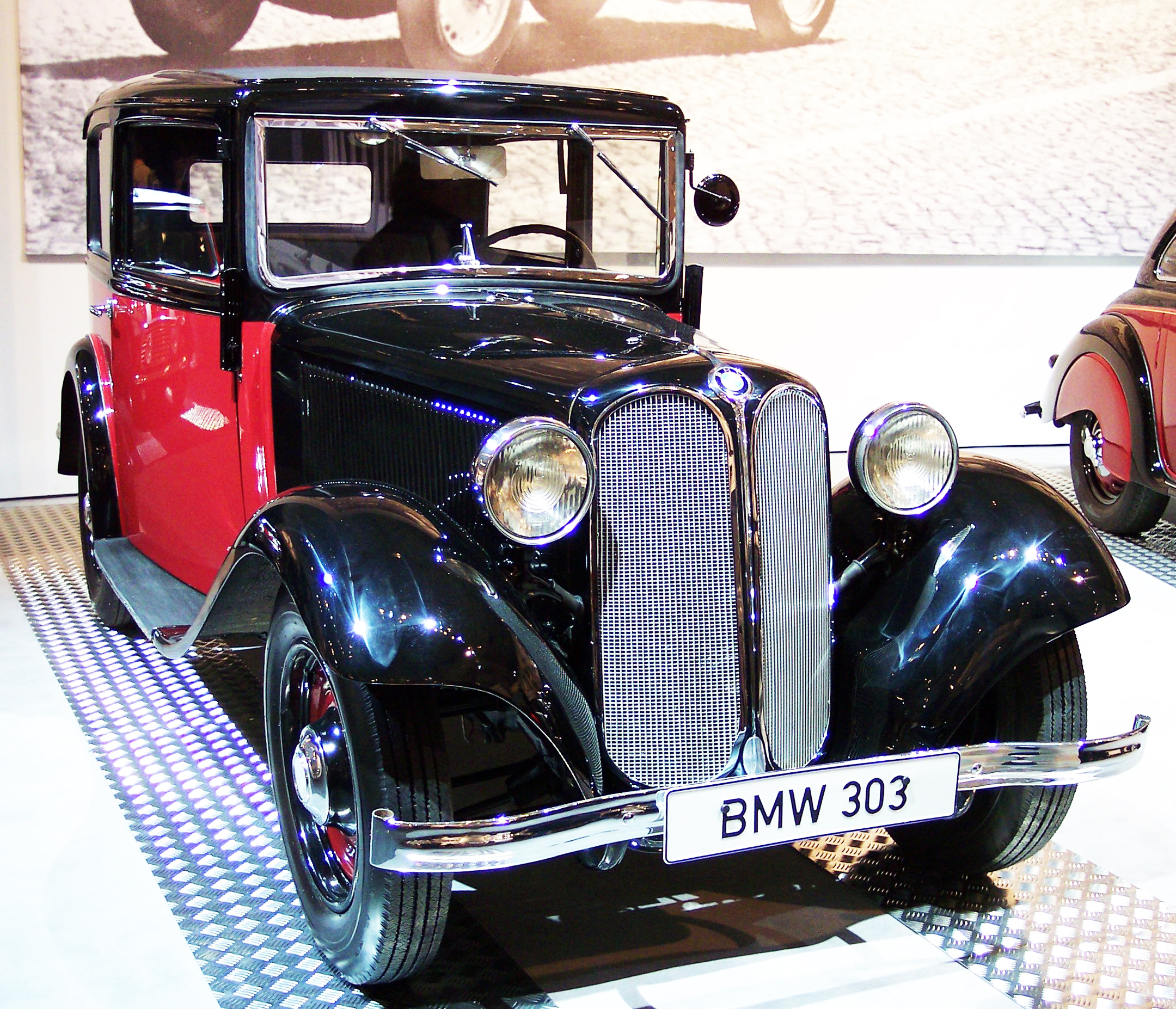 BMW 303 - 1933 - 2000s -photo by Stahlkocher -via Free-Documentation-License