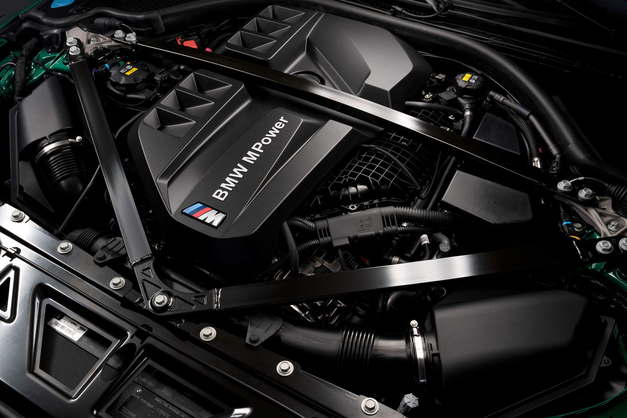 BMW M3 Competition - 2020 - engine / moteur - inline 6-cylinder / 6 cylindres en ligne - under the hood