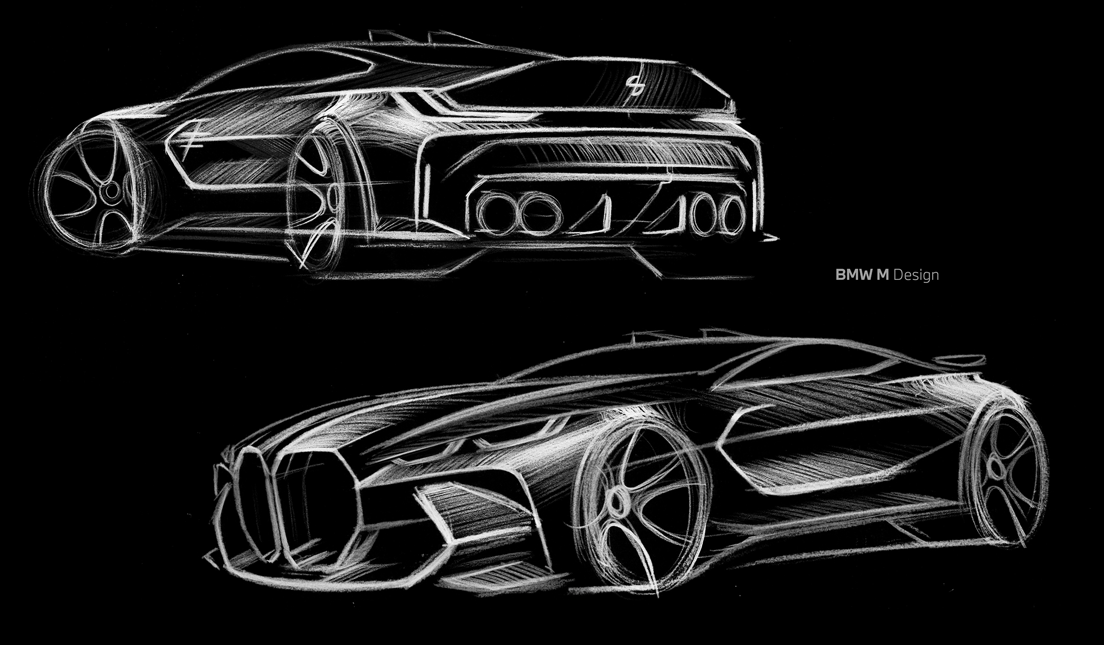 BMW M3 - 2020 - design sketch baseline