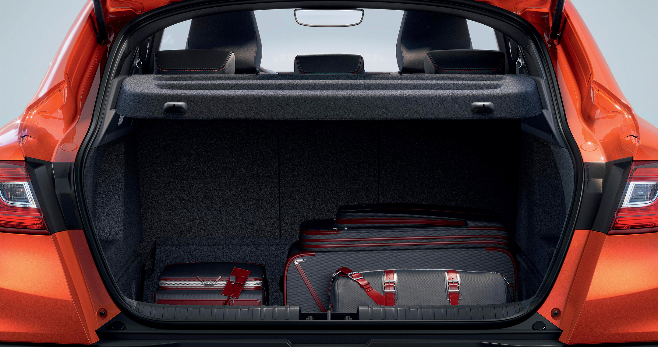 Renault Arkana R.S. Line E-TECH Hybrid - 2020 - rear boot-trunk luggage / coffre arrière bagage