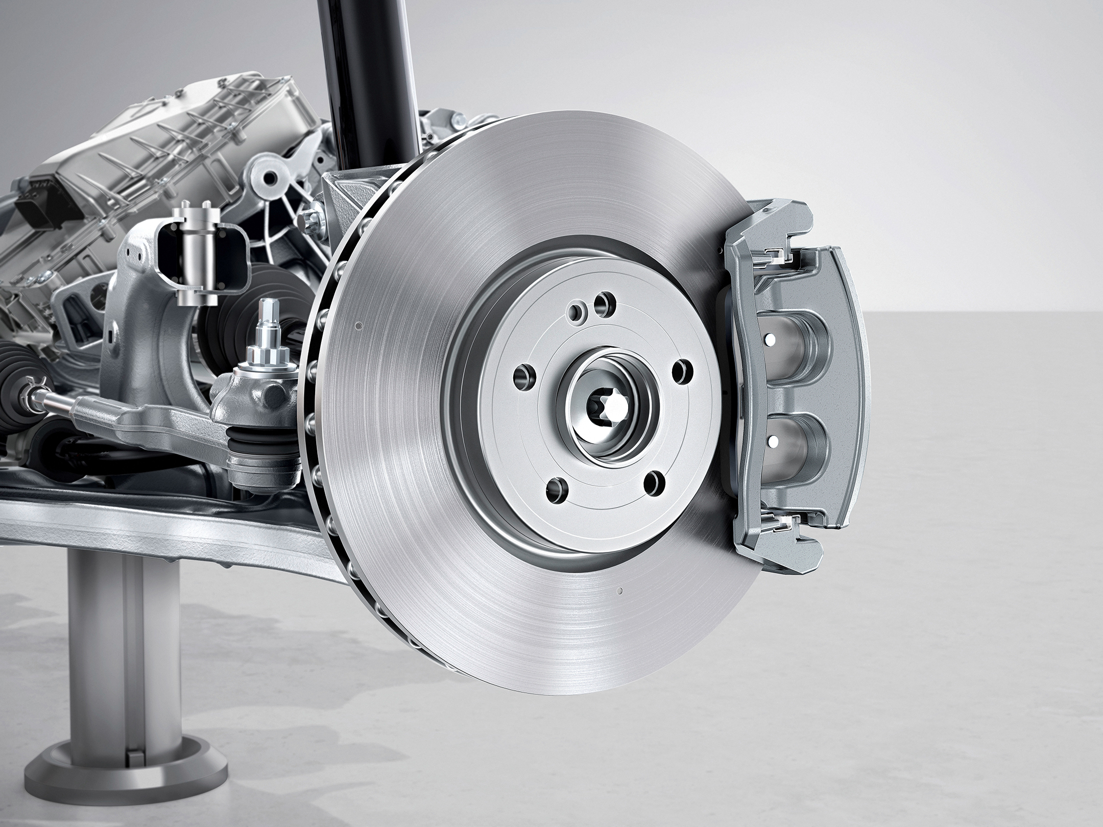 Mercedes EQA 250 AMG Line - 2021 - chassis / châssis - brake system / disque de frein
