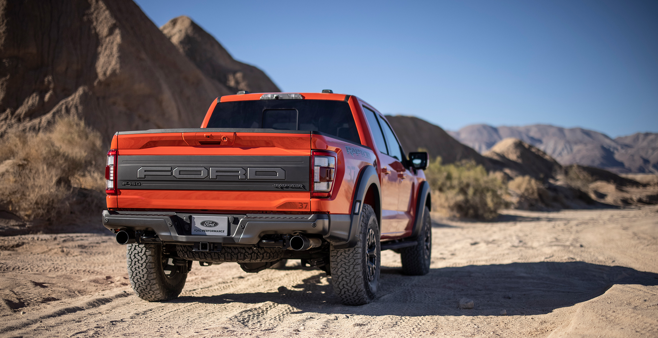 Ford F-150 Raptor - 2021 - rear side-face / profil arrière