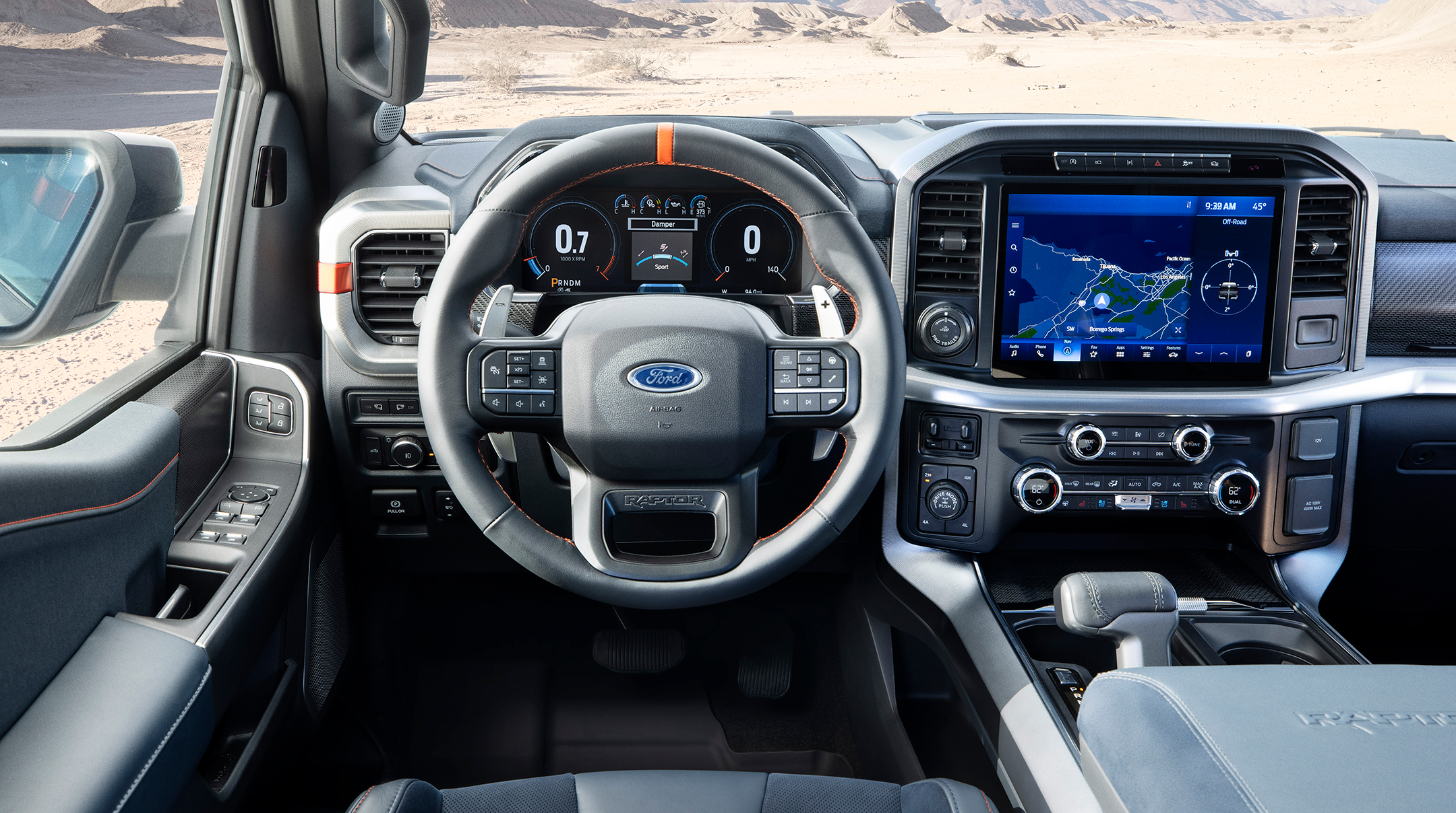 Ford F-150 Raptor - 2021 - steering wheel / volant