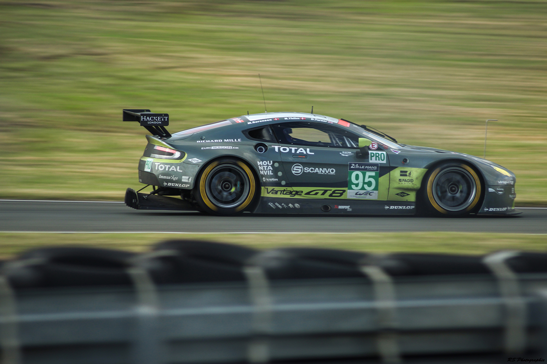 Aston Martin Vantage V8 n95 - AM Racing - THIIM - SORENSEN - TURNER - GTE Pro - 2016 LM24 - Arnaud Demasier RS Photographie