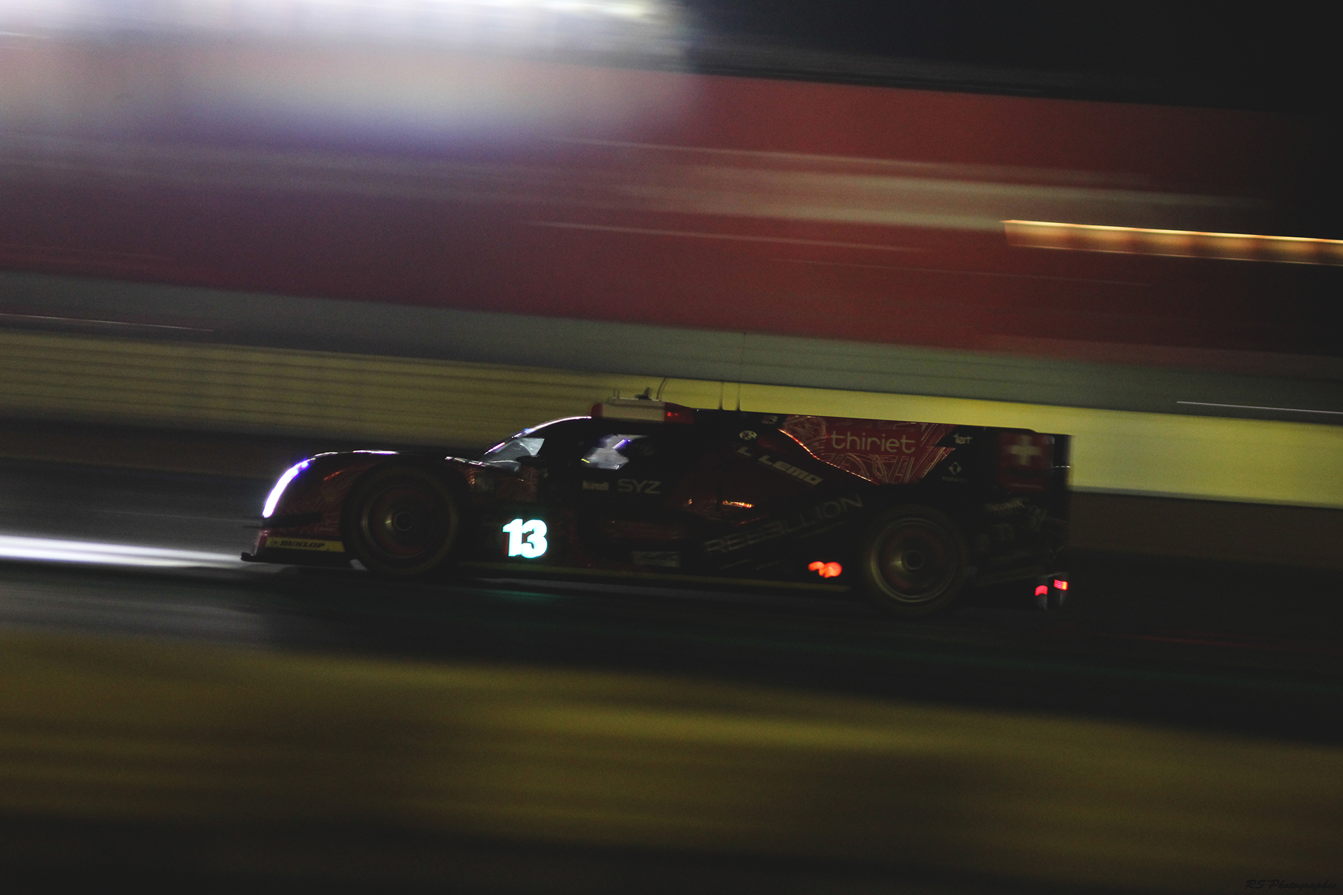R-One - n13 - Rebellion Racing - TUSCHER - IMPERATORI - KRAIHAMER - LMP1 - 2016 LM24 - nuit - Arnaud Demasier RS Photographie