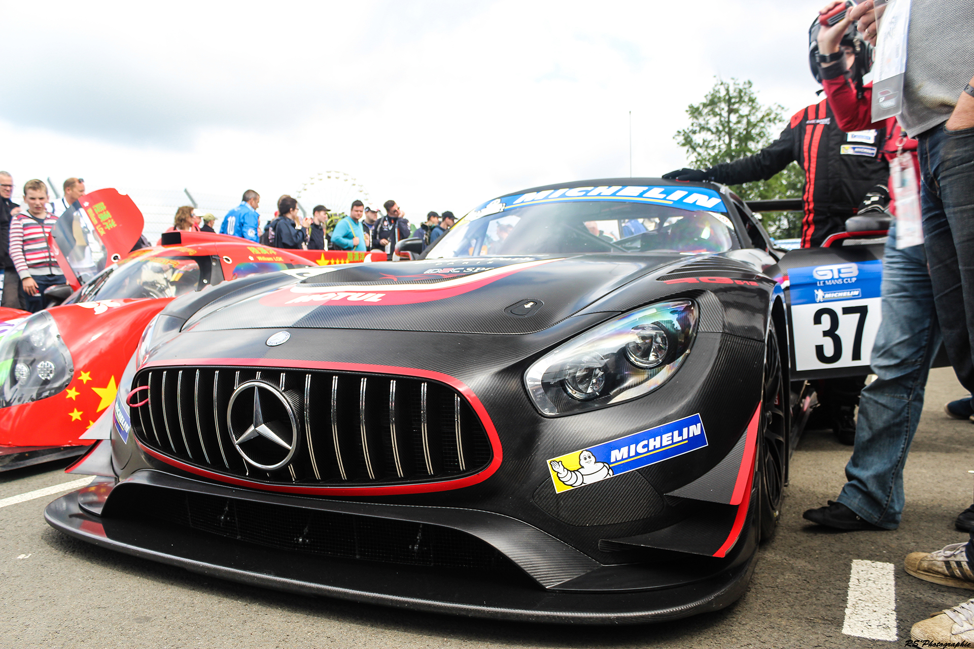 Road to Le Mans 2016 - AMG GT3 - Arnaud Demasier RS Photographie