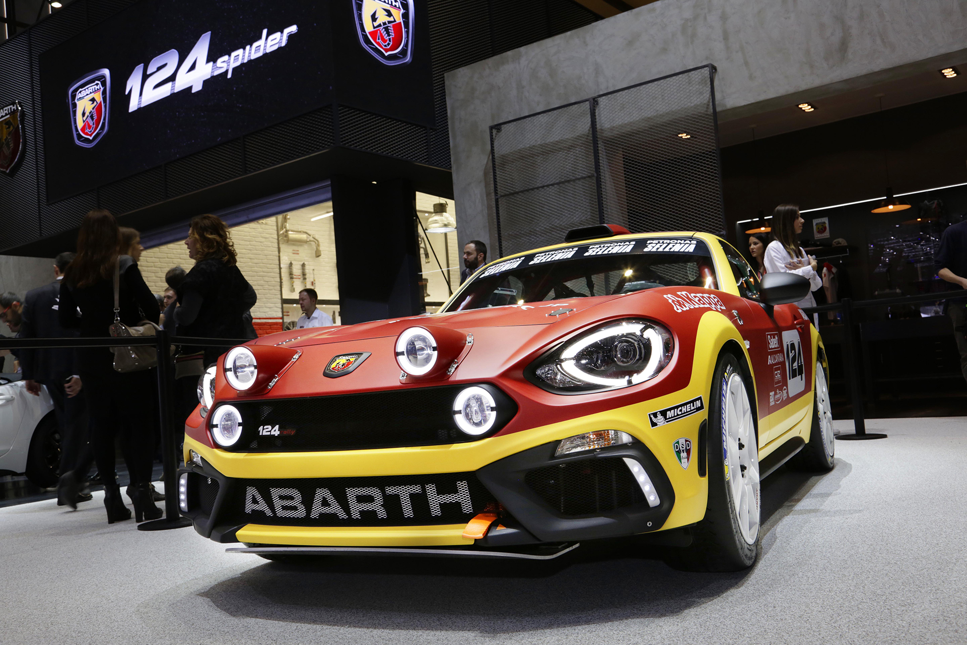 Abarth 124 rally - 2016 - Geneva