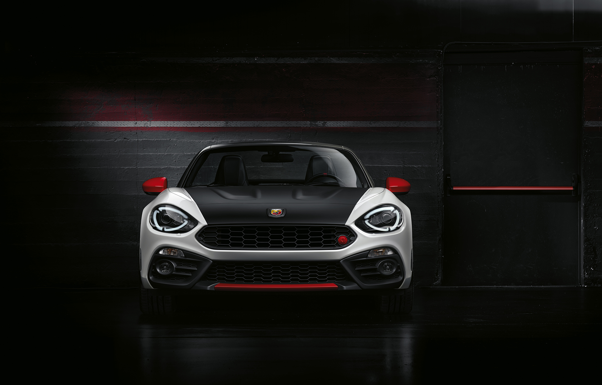 Abarth 124 spider - 2016 - avant / front