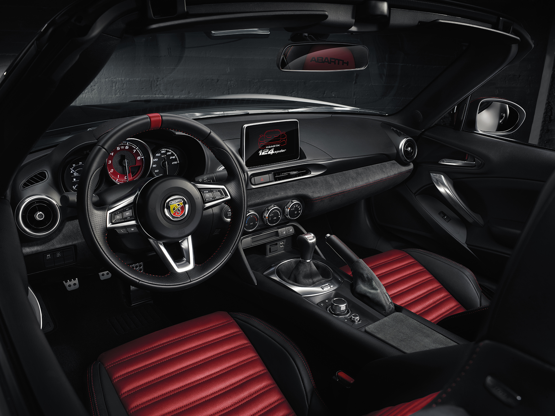 Abarth 124 Spider Bella E Atletica Avec 1 4l Turbo 170