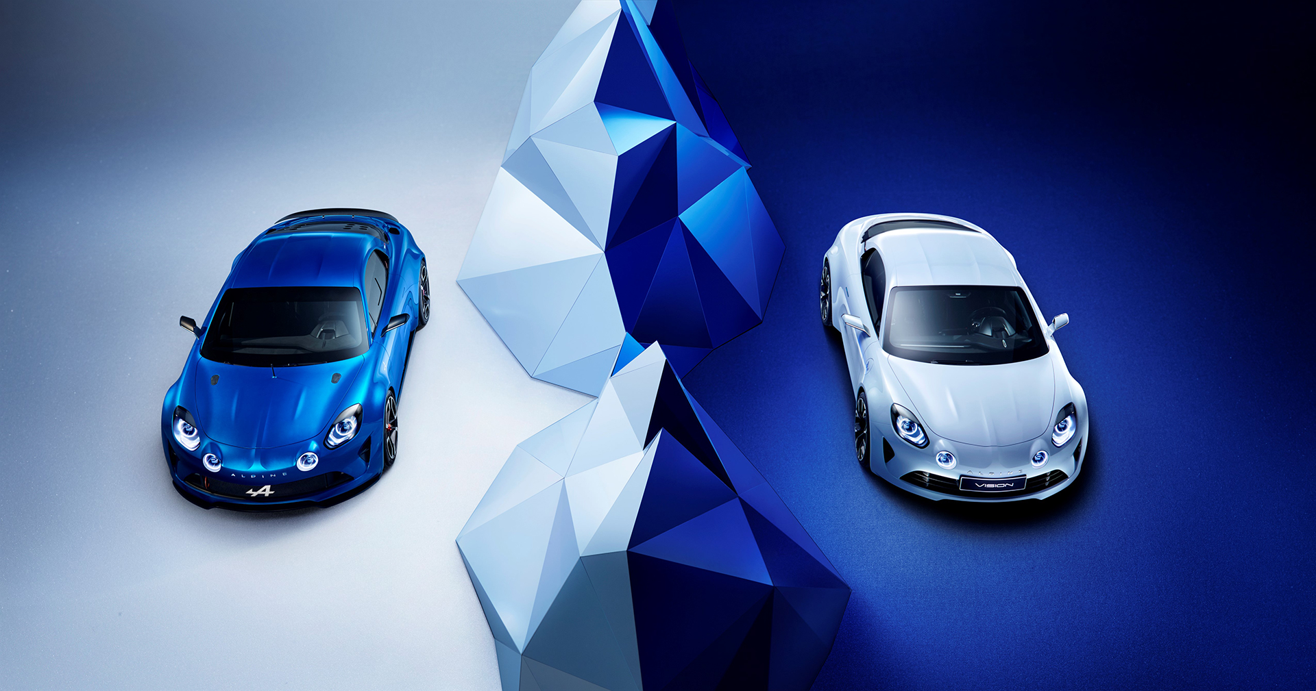 Alpine Celebration 2015 - Alpine Vision 2016 - profil avant / front side-face