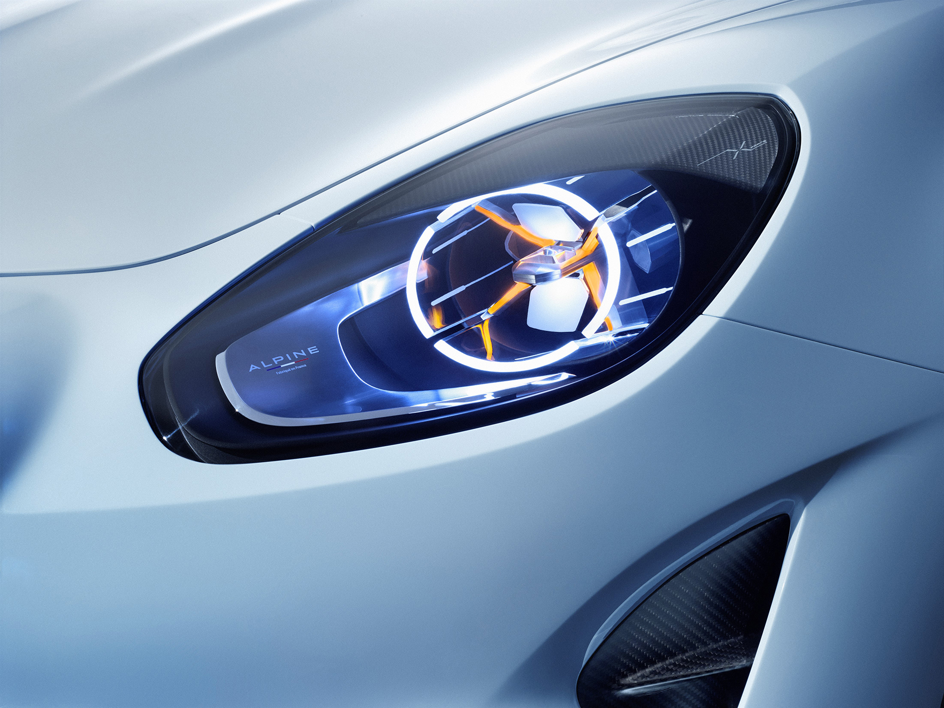 Alpine Vision 2016 - optique avant / front light