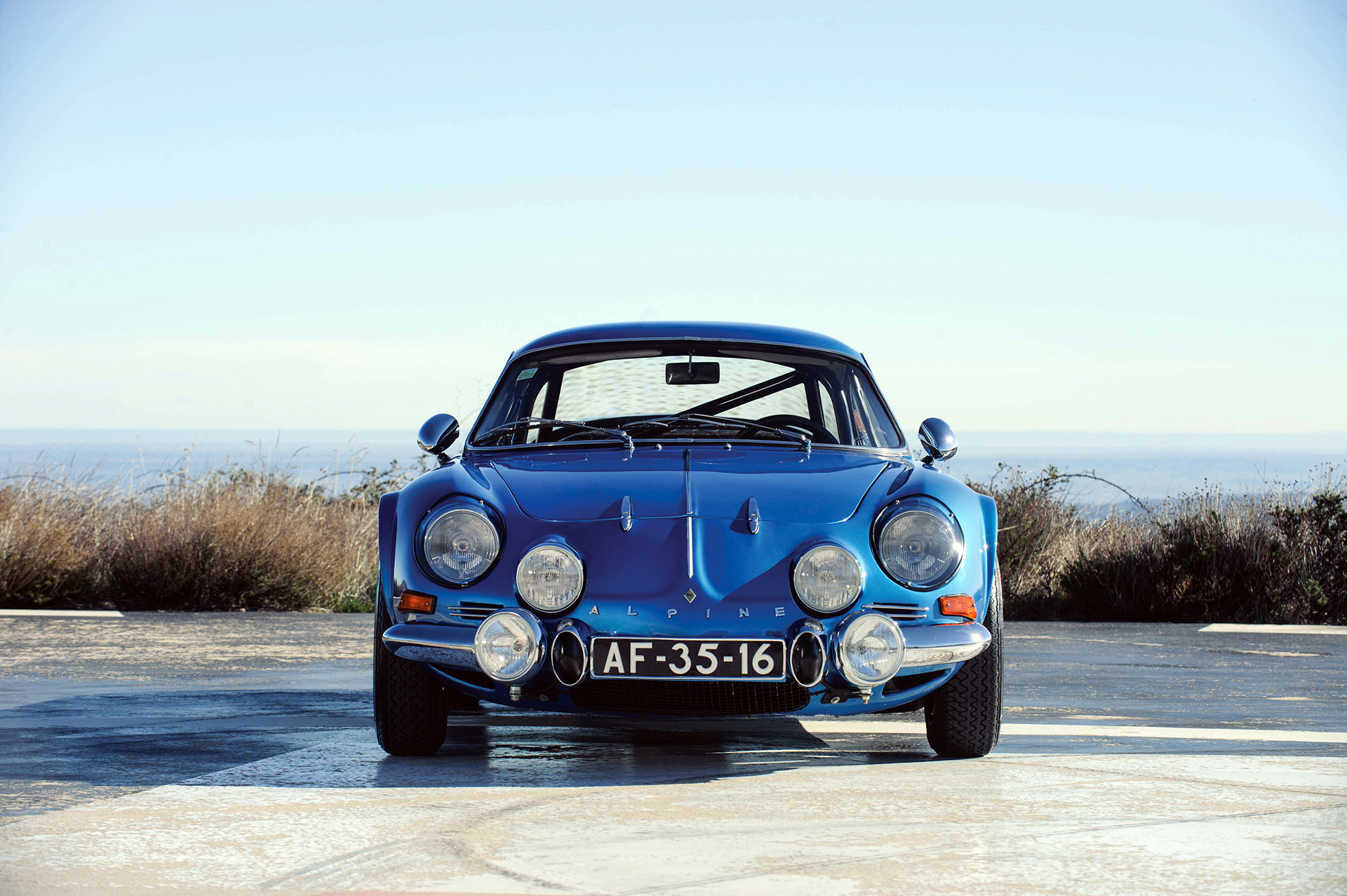 Alpine A110 1600S - avant / front - Photo Tom Wood 2015 Courtesy of RM Auctions