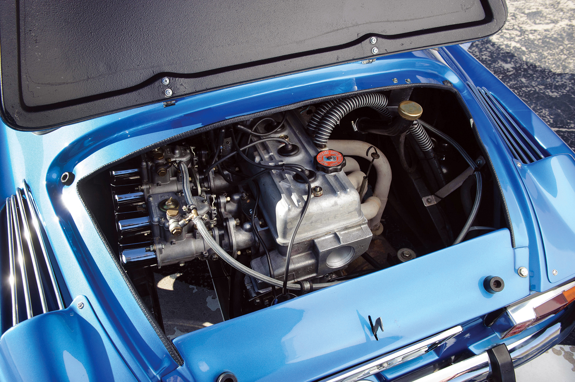 Alpine A110 1600S - moteur / engine - Photo Tom Wood 2015 Courtesy of RM Auctions