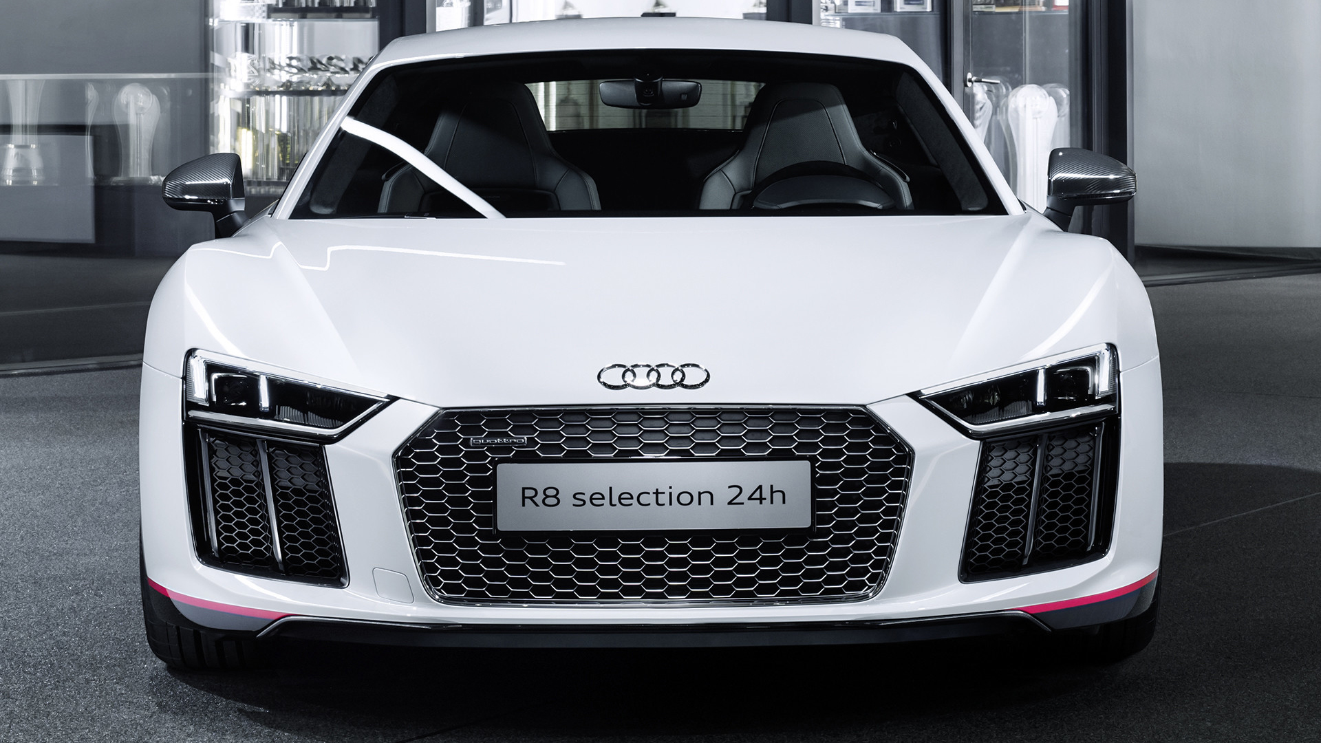 Audi R8 V10 selection 24h - 2016 - front / avant - zoom