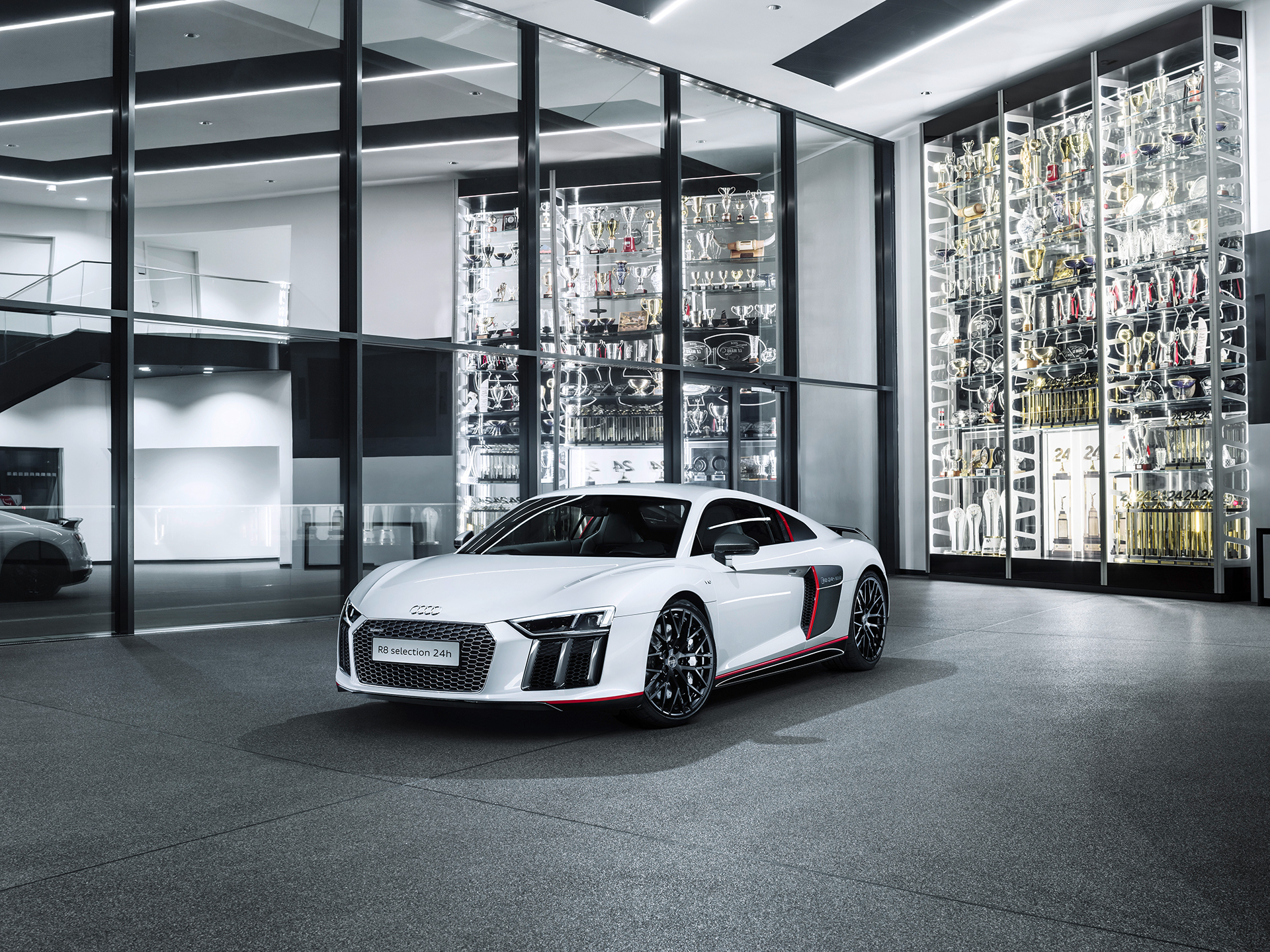 Audi R8 V10 selection 24h - 2016 - front side-face / profil avant