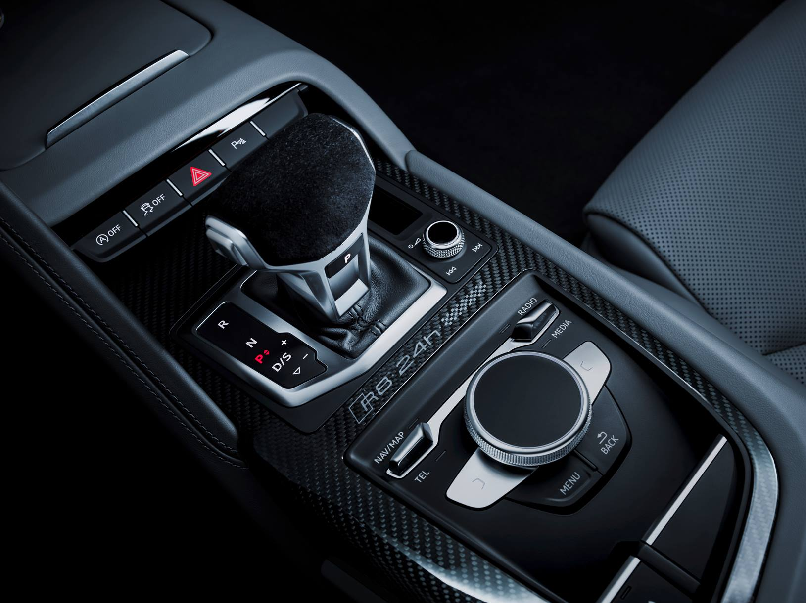 Audi R8 V10 selection 24h - 2016 - gearshift / levier de vitesses