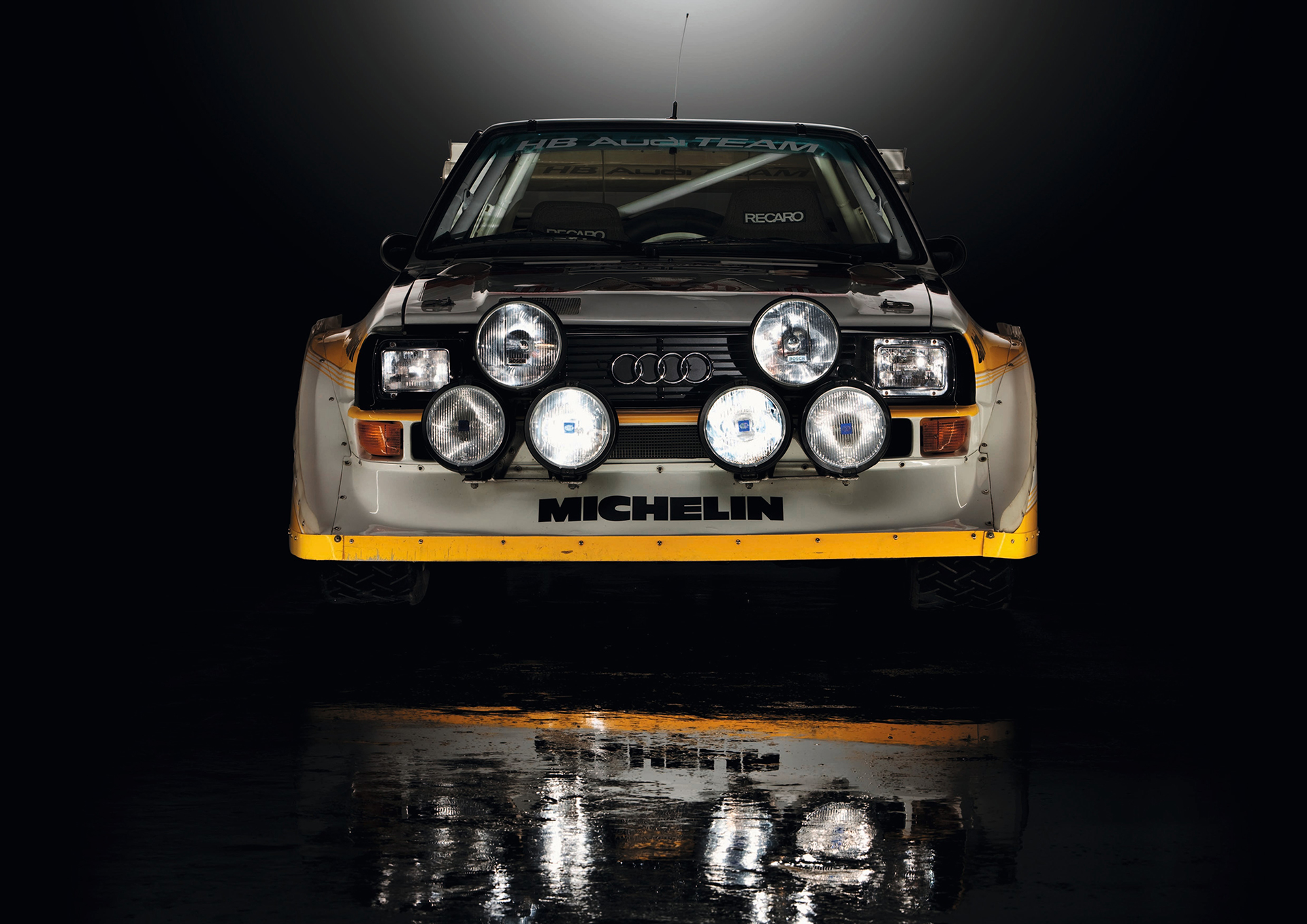 Audi Sport quattro S1 - FIA Group B Rally Car - 1985 - 1986 - front / avant