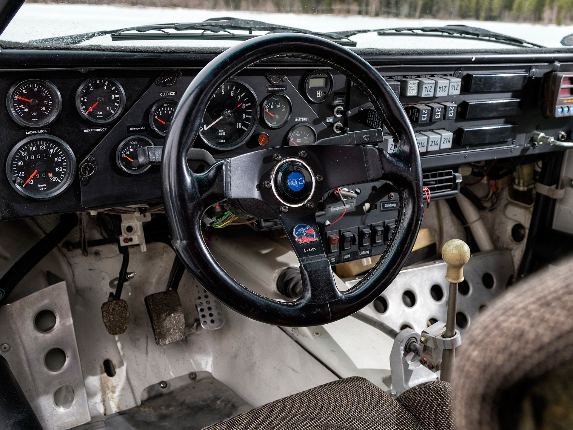 Audi Sport quattro S1 - FIA Group B Rally Car - 1985 - 1986 - racing wheel / volant