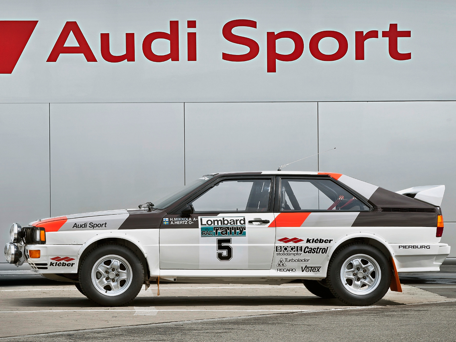 Audi Sport quattro - FIA Group 4 Rally Car - 1981 - 1982 - side-face / profil