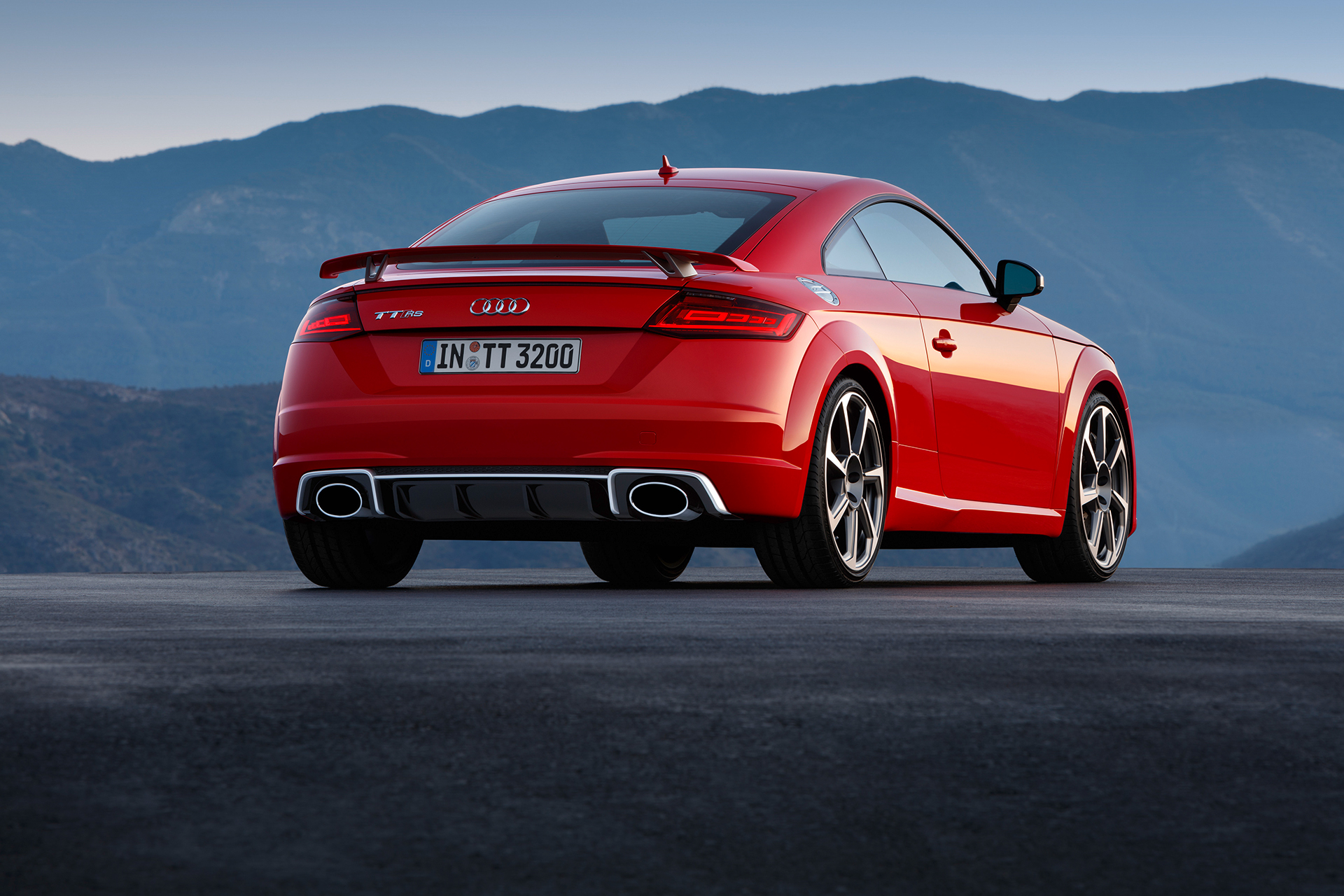 Audi TT RS coupe - 2016 - rear