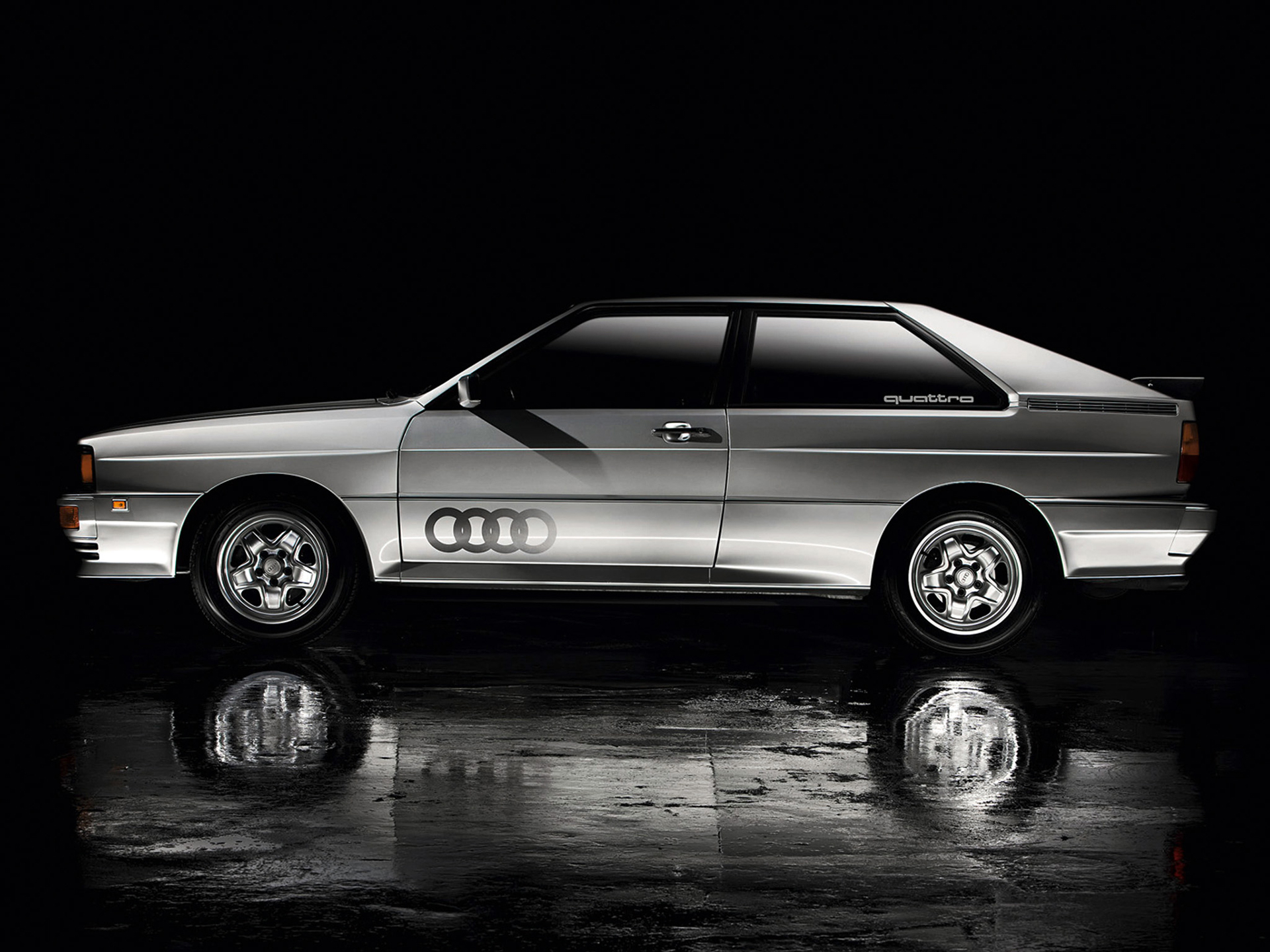 Audi quattro - 1980 - side-face / profil