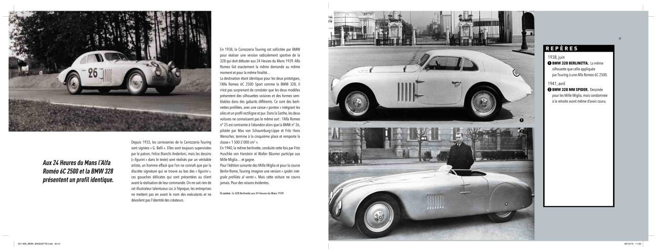 BMW 100 ans de design - BMW 328 - archive Grand Tourisme SAS