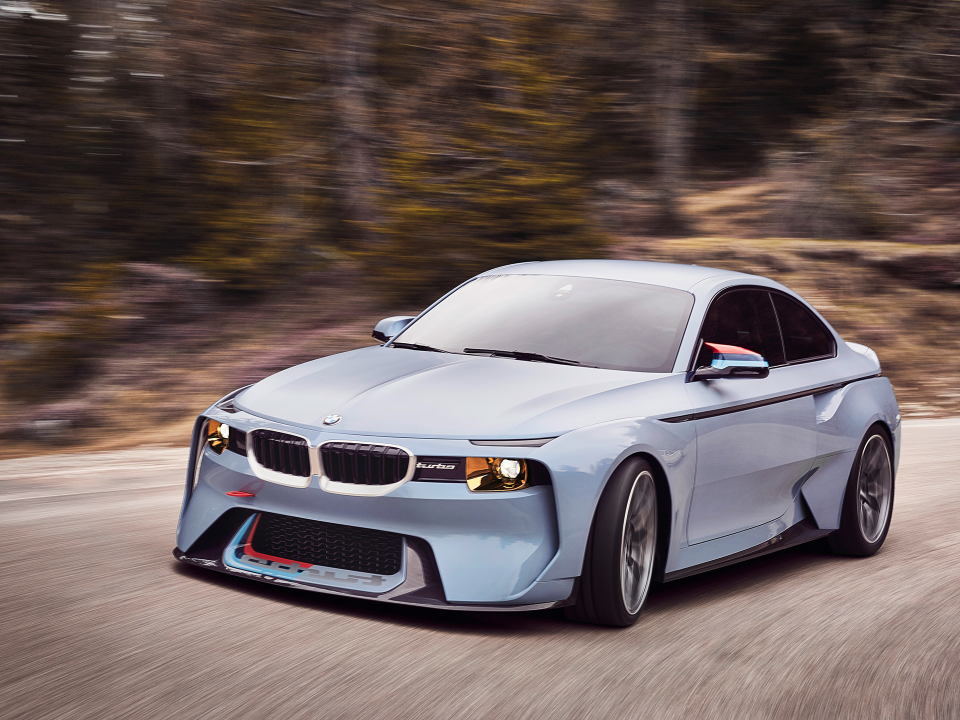 BMW 2002 Hommage - 2016 - front side-face / profil avant