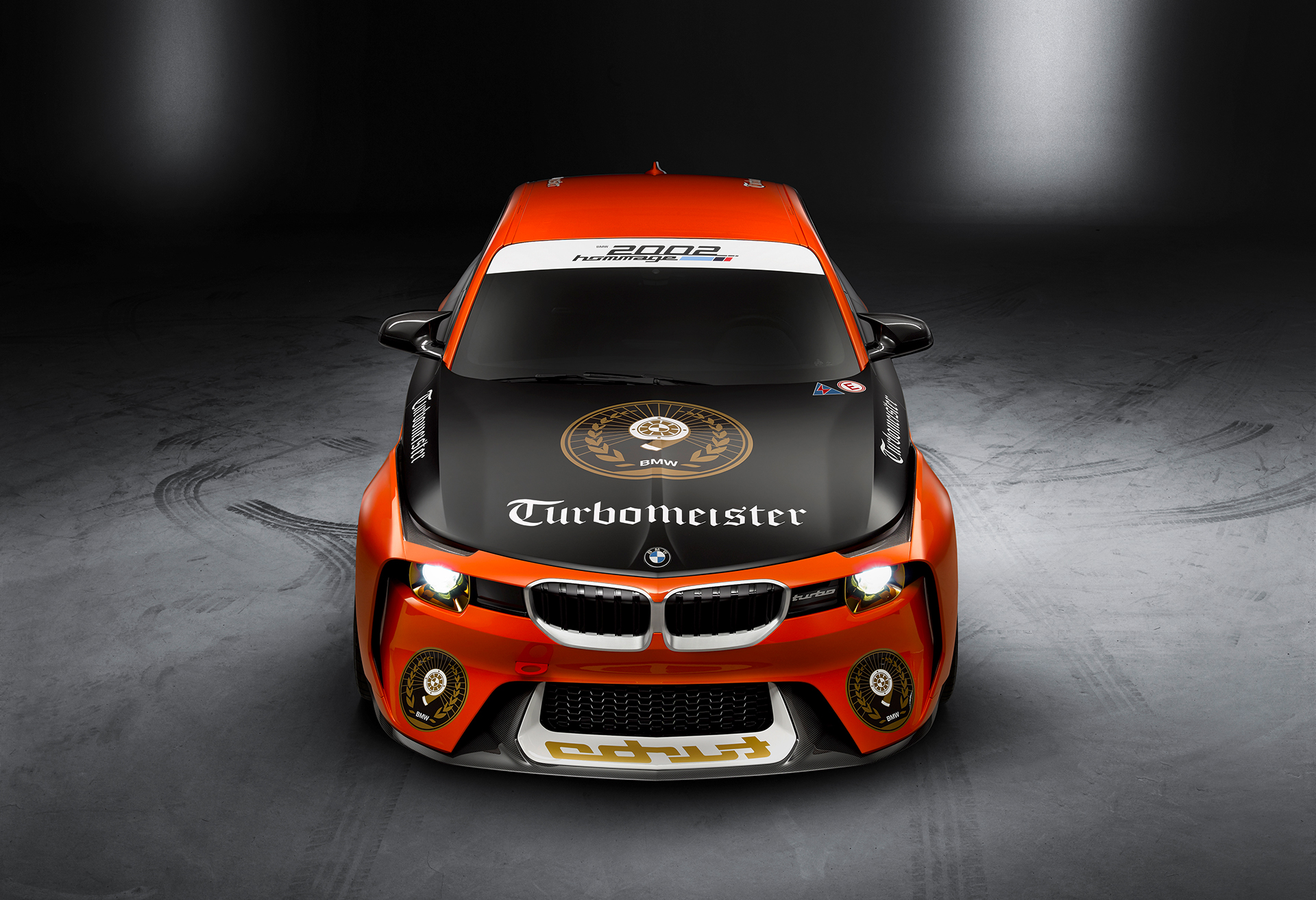 BMW 2002 Hommage Turbomeister Concept - 2016 - front-face / face avant
