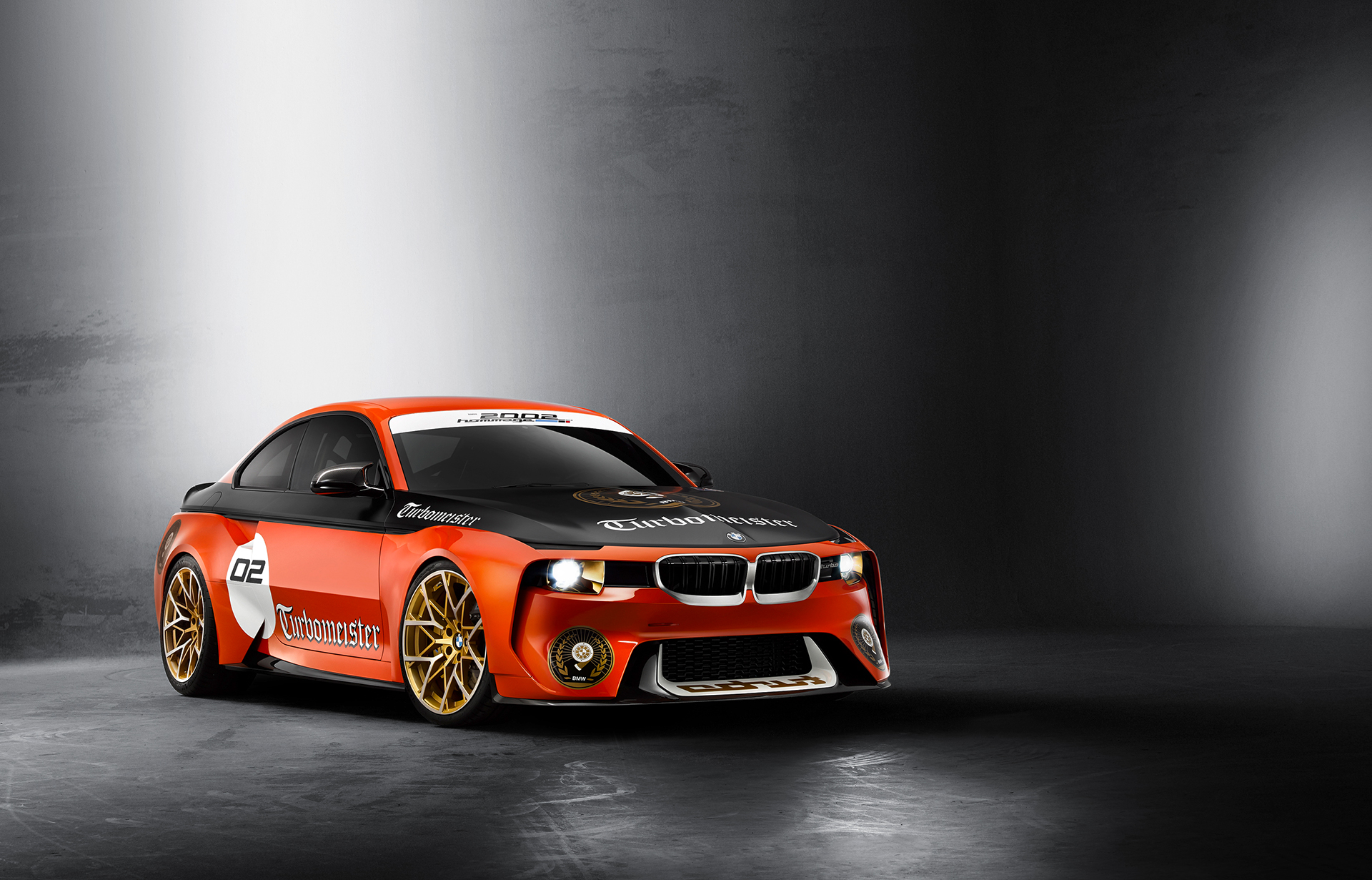 BMW 2002 Hommage Turbomeister Concept - 2016 - front side-face / profil avant