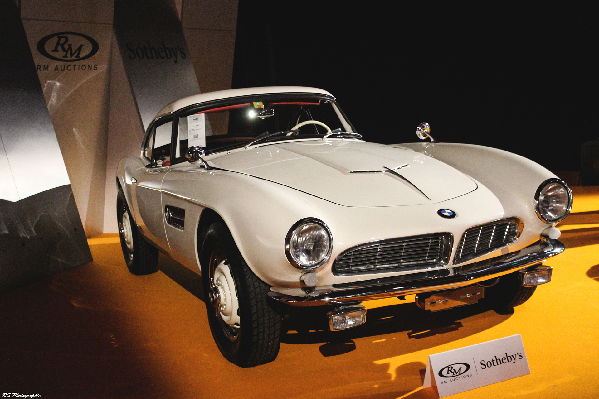 BMW 507 Roadster Series II - 1957 - RM - Auctions - 2016 - Arnaud Demasier RS Photographie