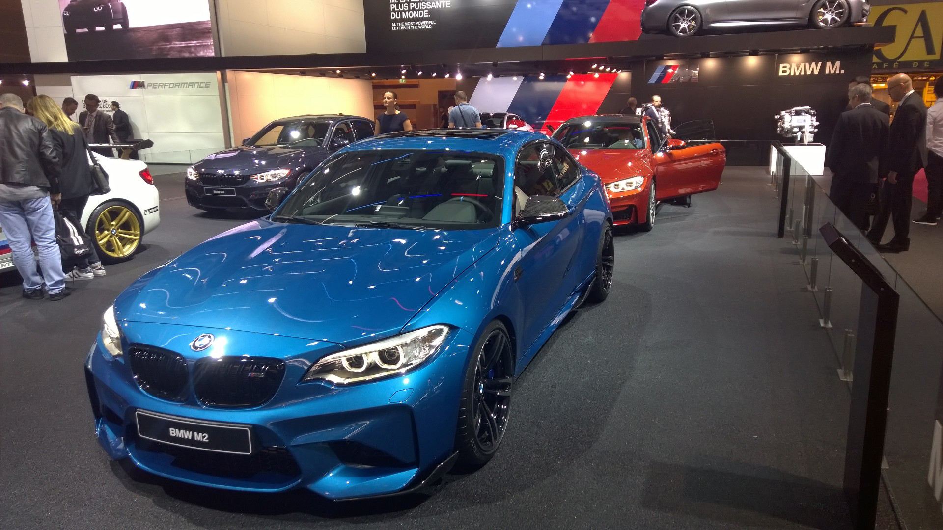 BMW M2 - 2016 - Mondial Auto - photo ELJ DM