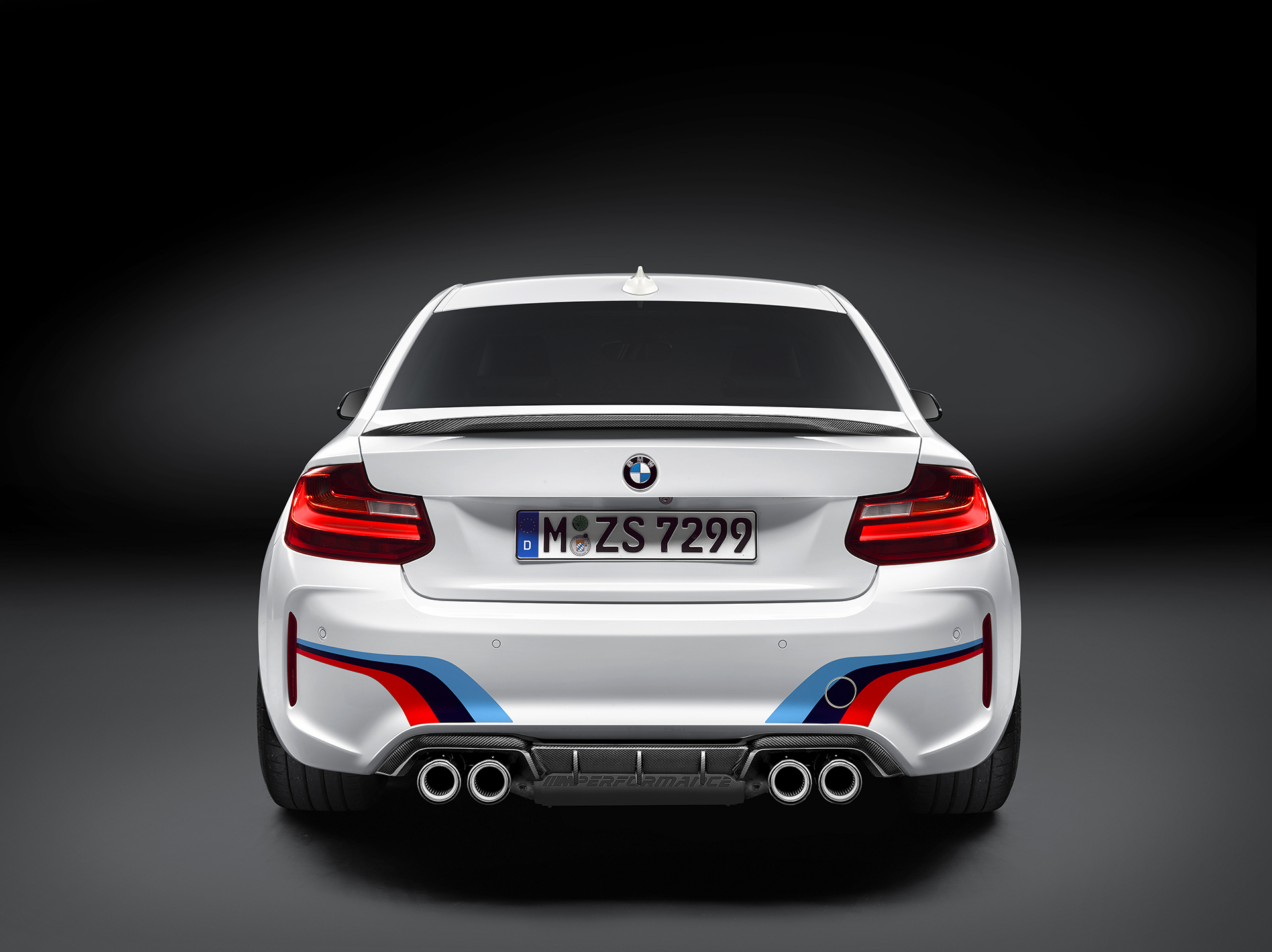 BMW M2 Coupé 2016 BMW M Performance Parts - arrière / rear