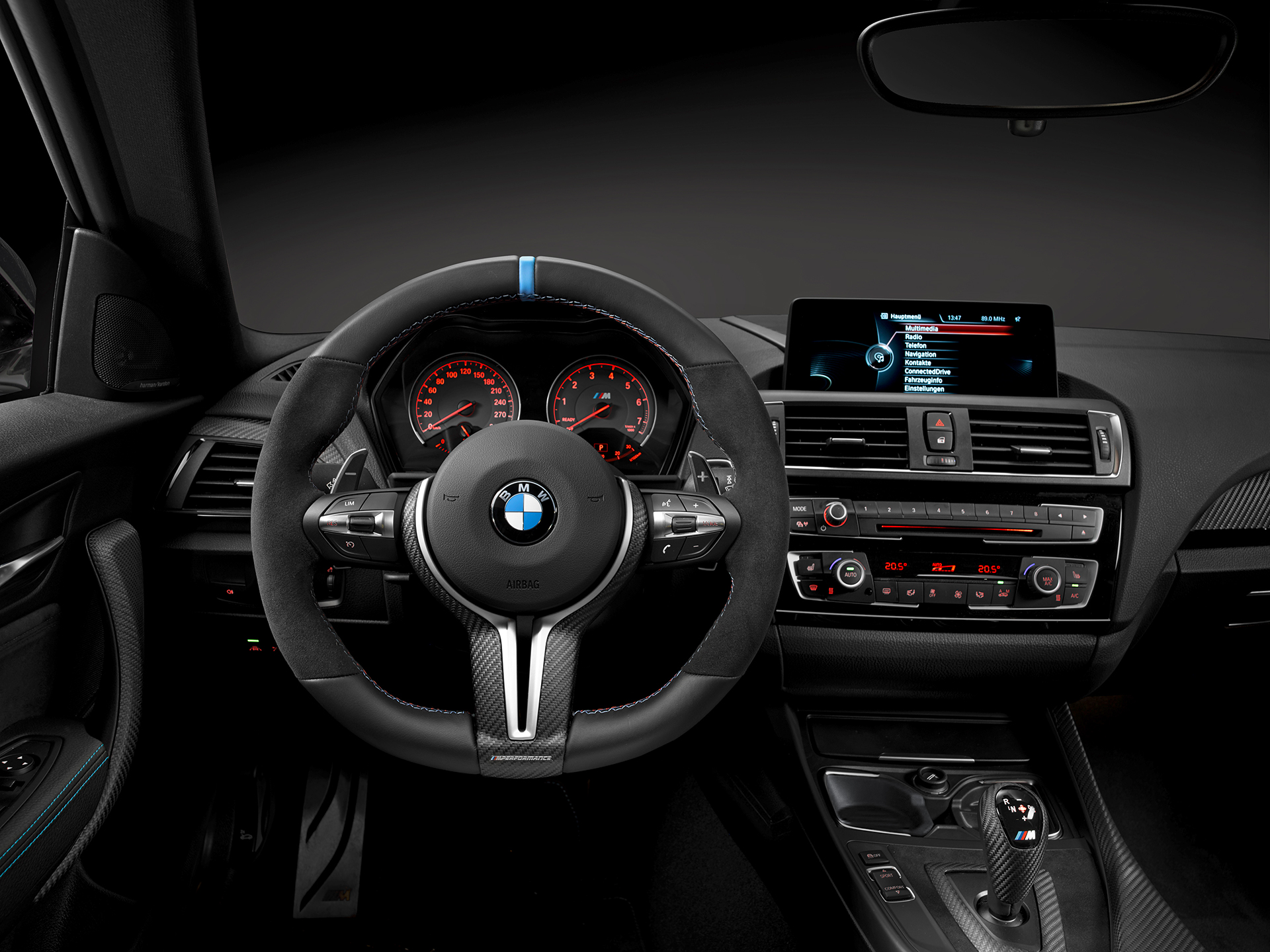 BMW M2 Coupé 2016 BMW M Performance Parts - interior / intérieur