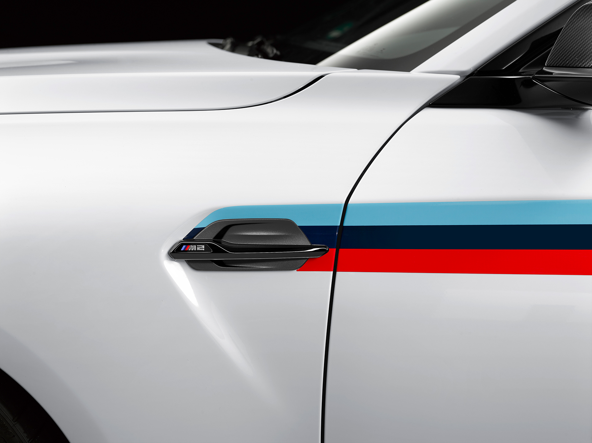 BMW M2 Coupé 2016 BMW M Performance Parts - side-face / profil - zoom