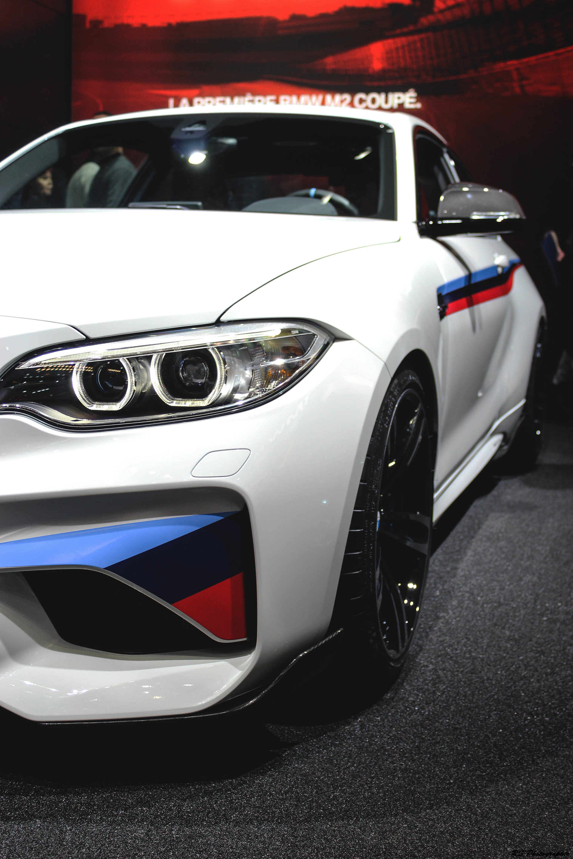 BMW M2 - front - Geneva 2016 - Arnaud Demasier RS Photographie