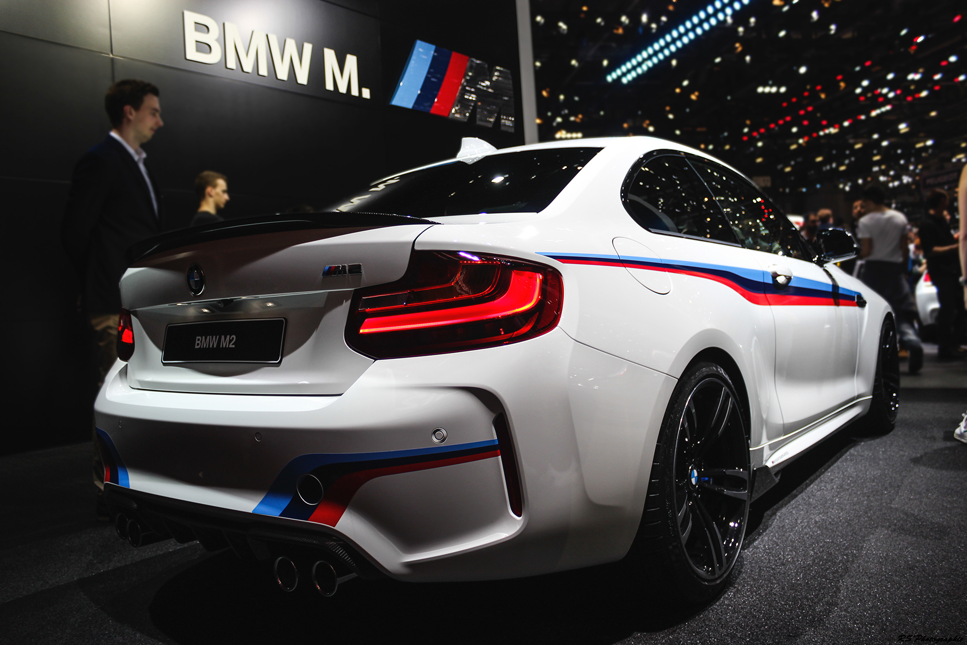 BMW M2 - rear - Geneva 2016 - Arnaud Demasier RS Photographie