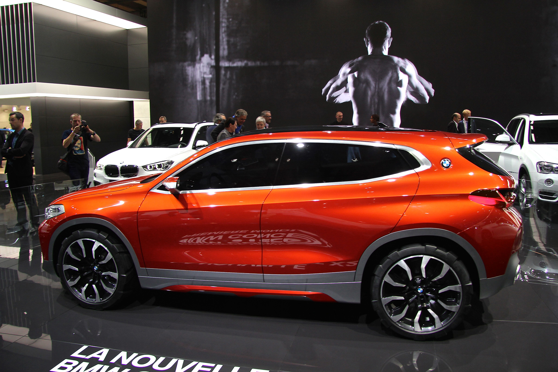 BMW X2 Concept - side-face / profil - 2016 - Mondial Auto - photo Ludo Ferrari
