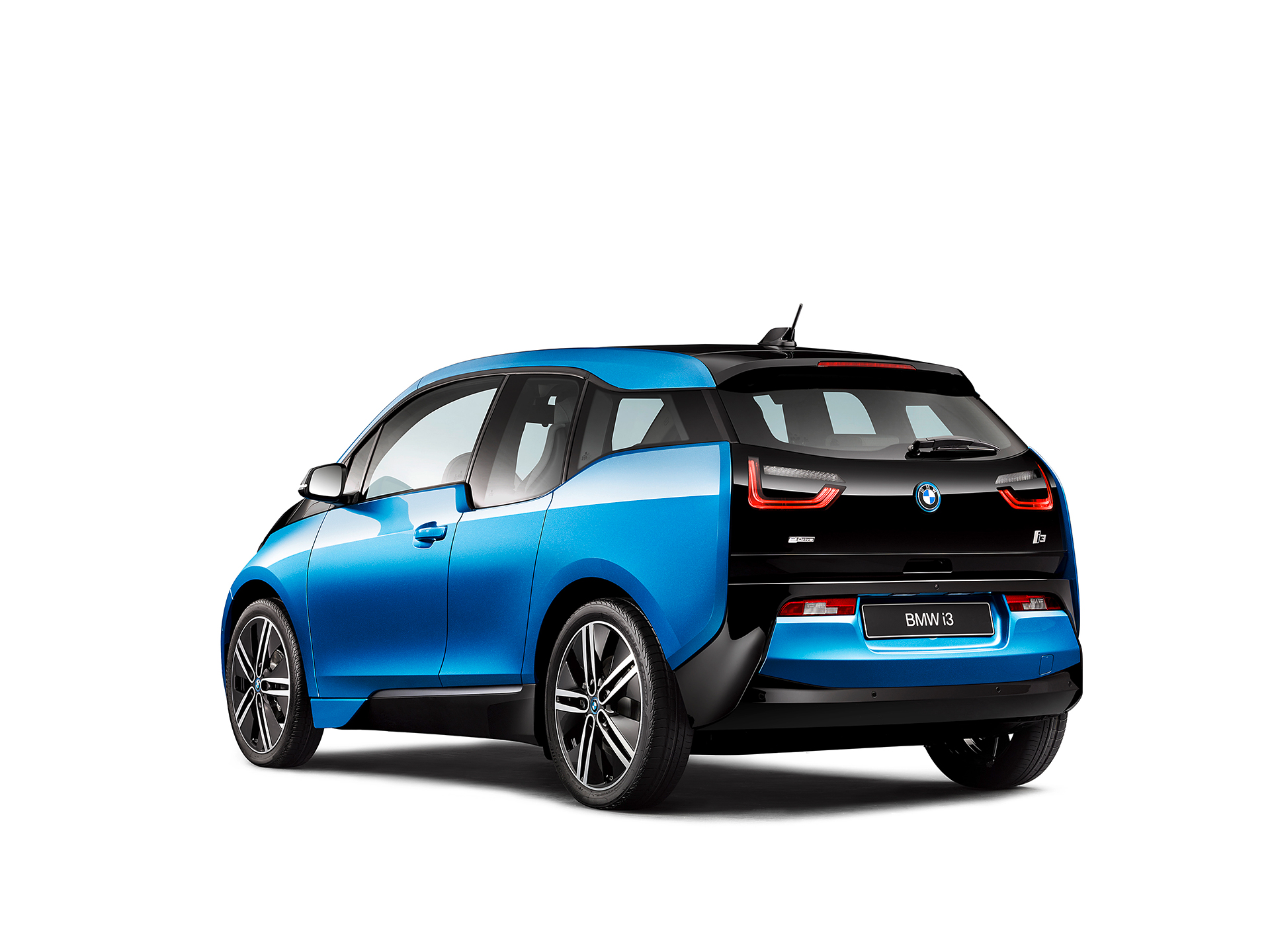BMW i3 94ah - 2017 - rear side-face / profil arriere