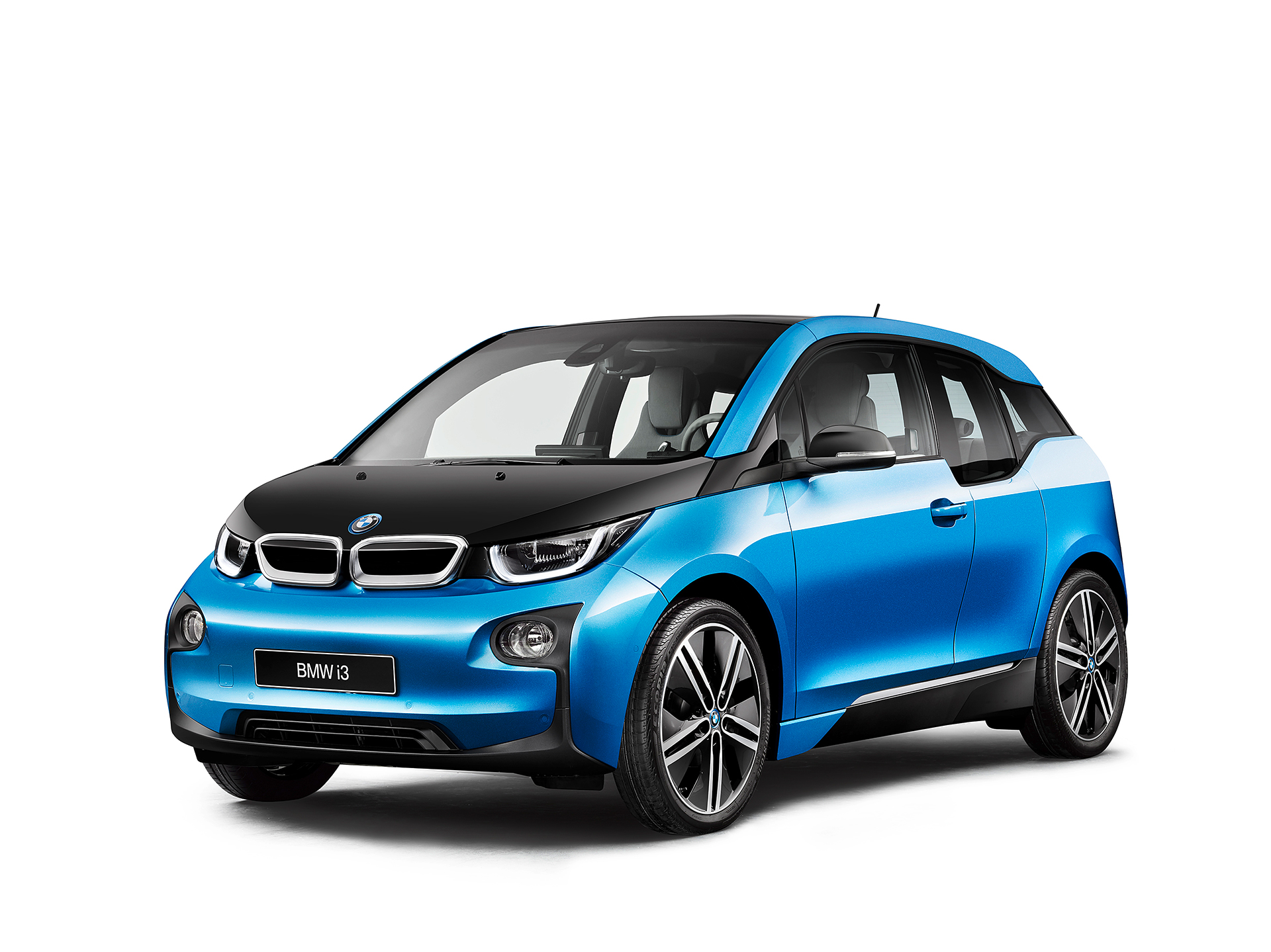 BMW i3 94ah - 2017 - front side-face / profil avant