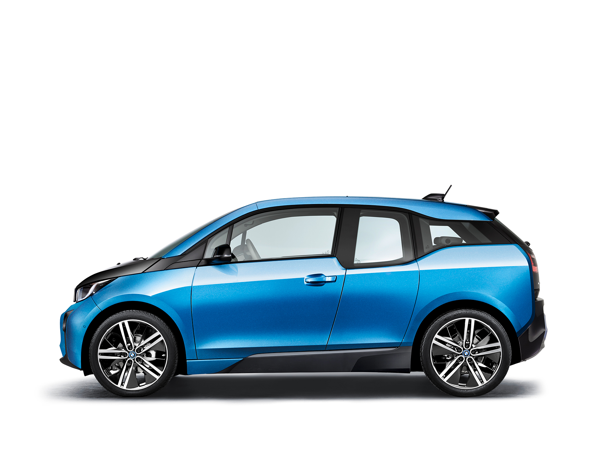 BMW i3 94ah - 2017 - side-face / profil