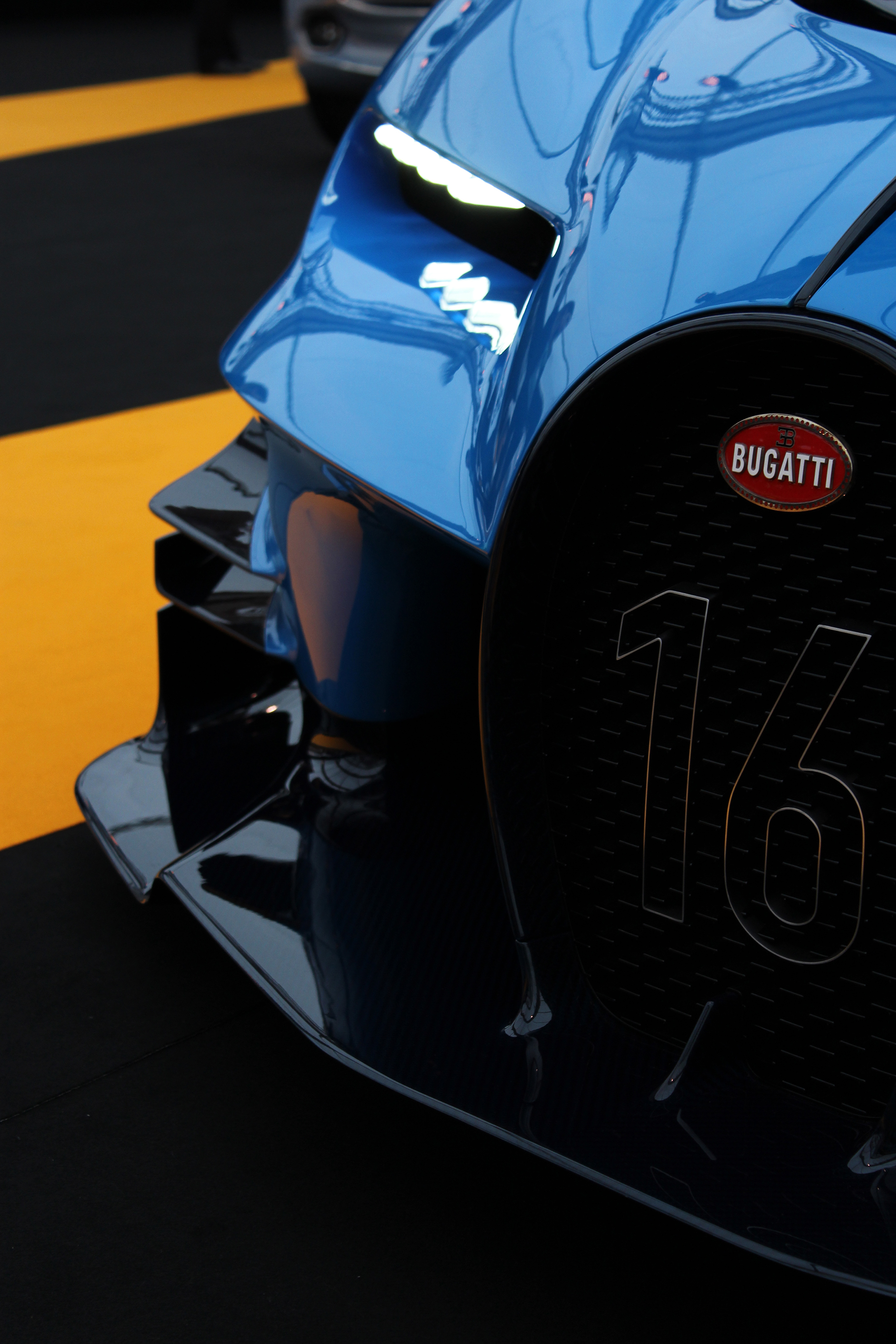 Bugatti Vision GT - avant / front - Exposition Concept cars 2016 - Arnaud Demasier RS Photographie